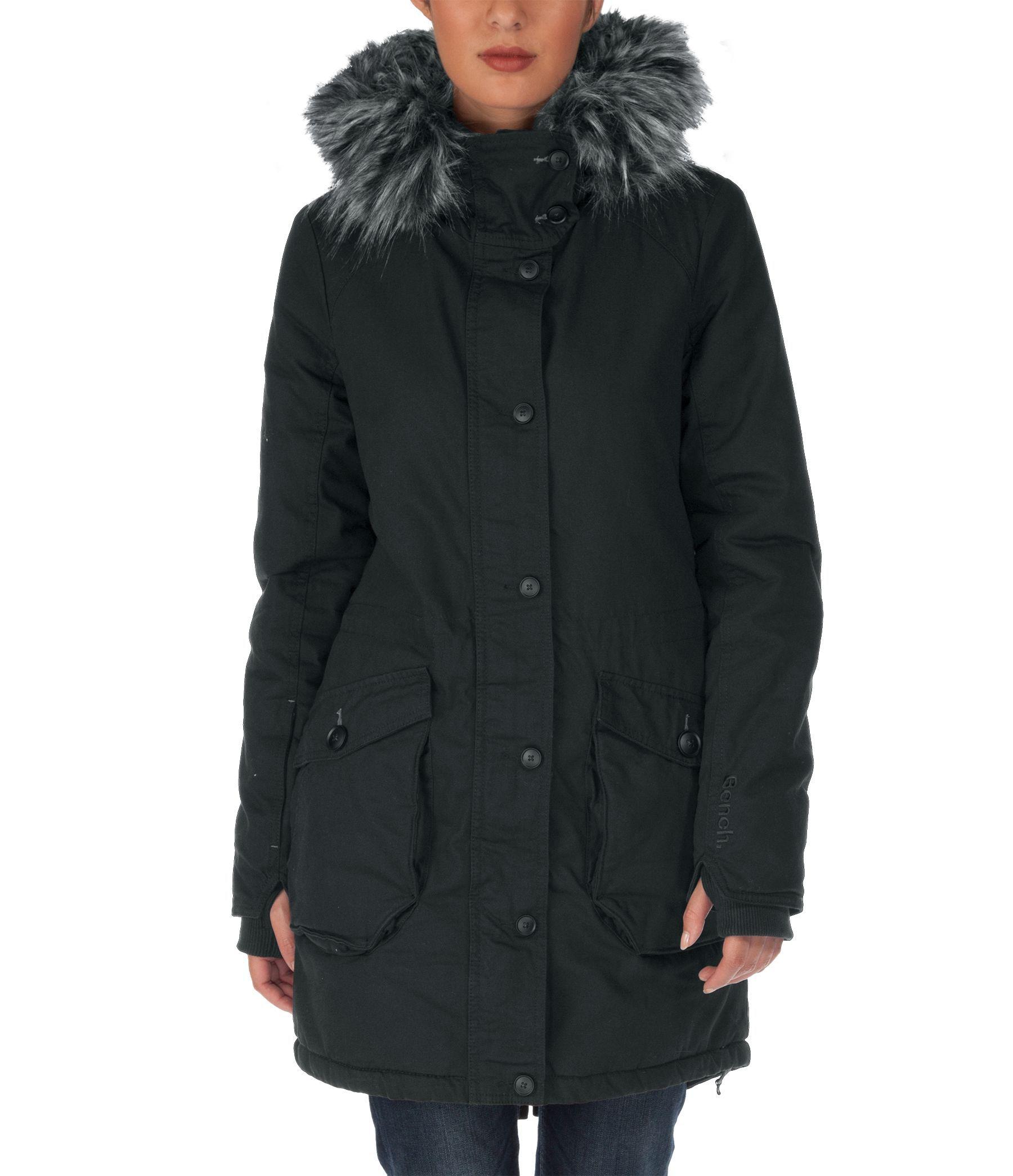 Bench wolfish jacket in black lyst Bench jacket