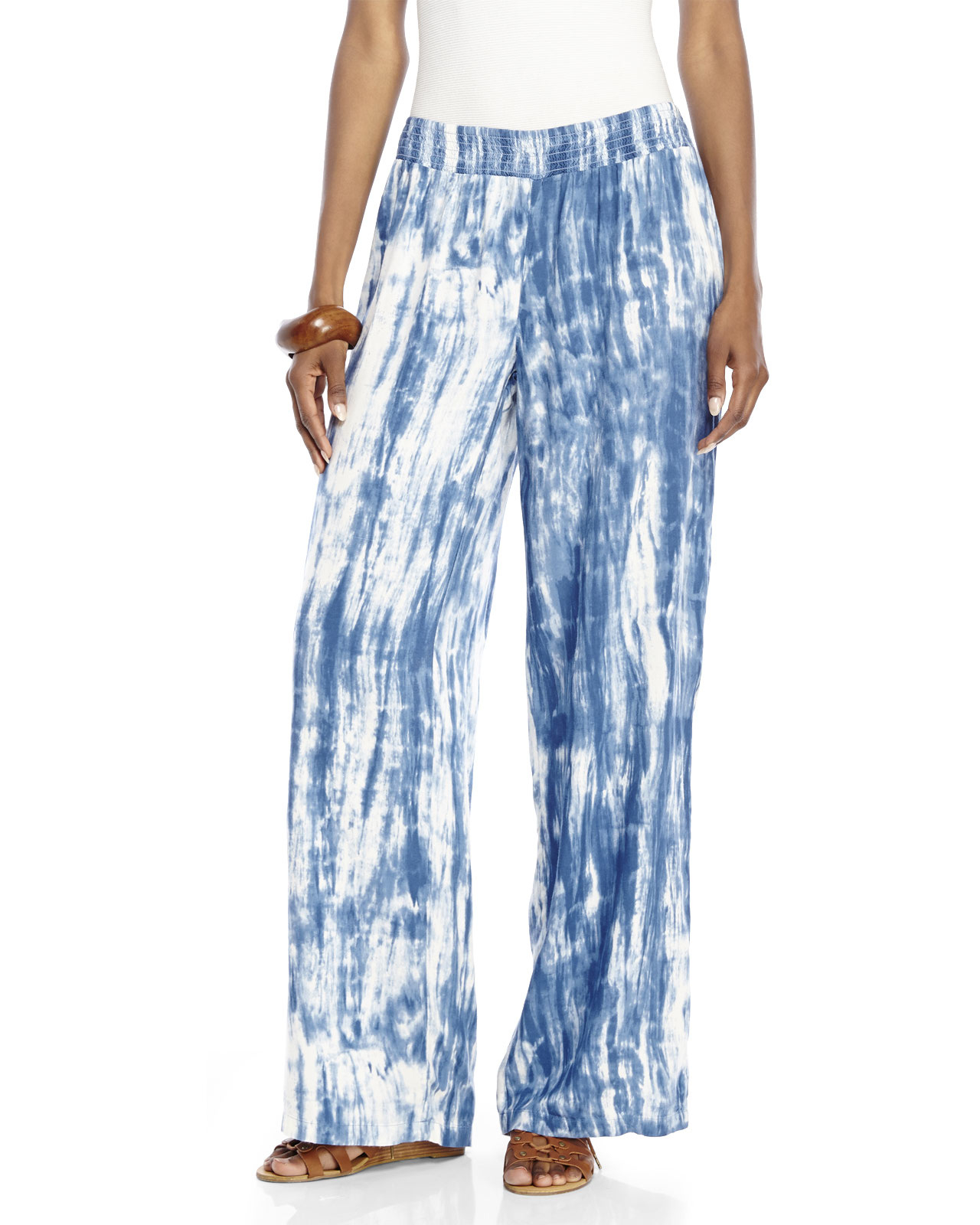 be33796279 Beach Lunch Lounge Norma Tie-Dye Pants in White - Lyst