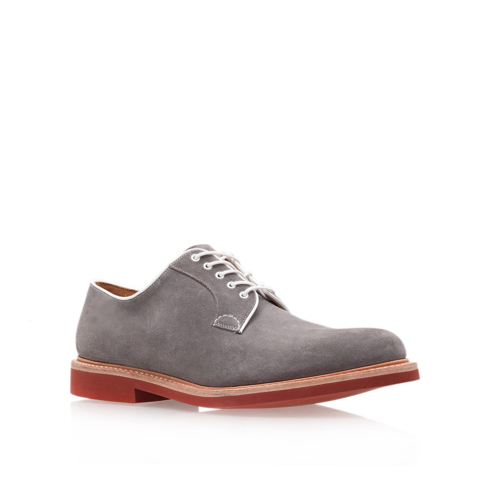 d98928650509d Church's Fulbeck Micro Derby in Gray for Men - Lyst