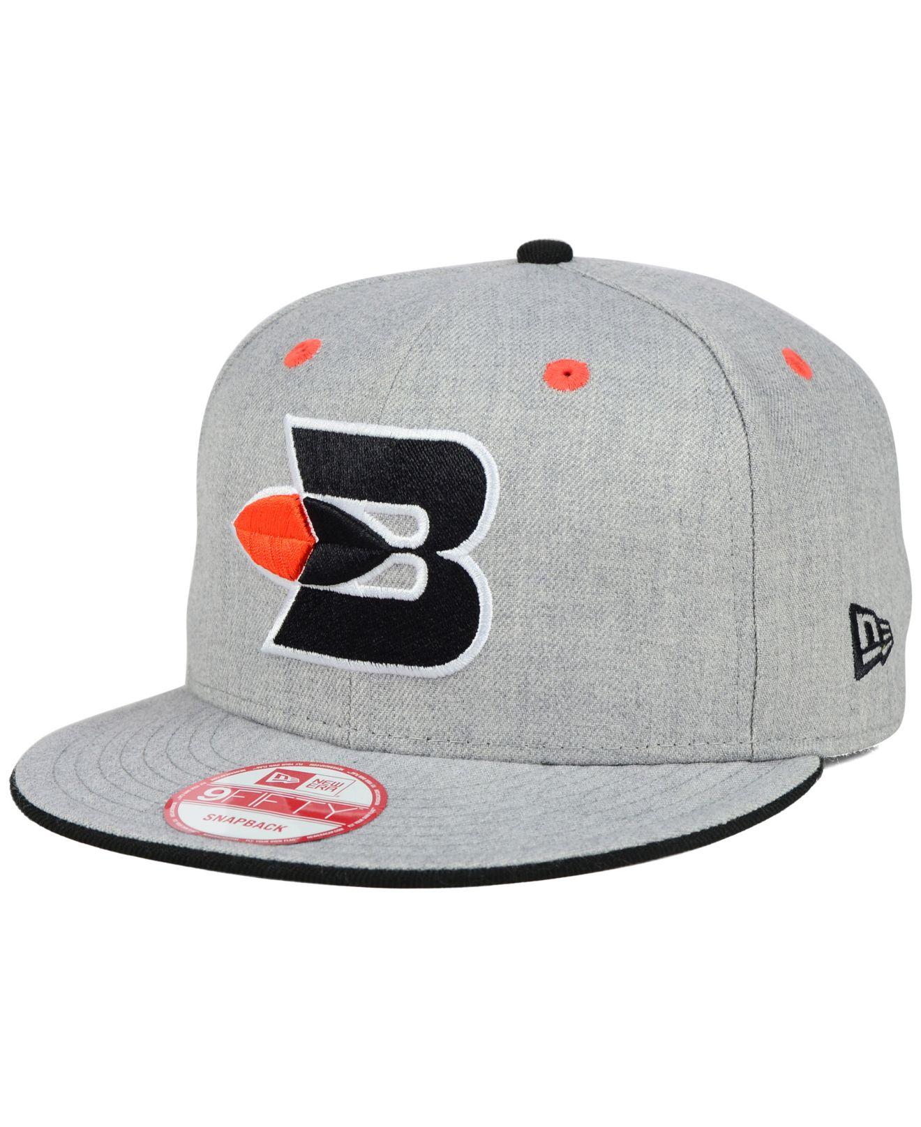 reputable site b5b12 85929 ... ireland lyst ktz buffalo braves heather 9fifty snapback cap in gray for  men e989a 28323