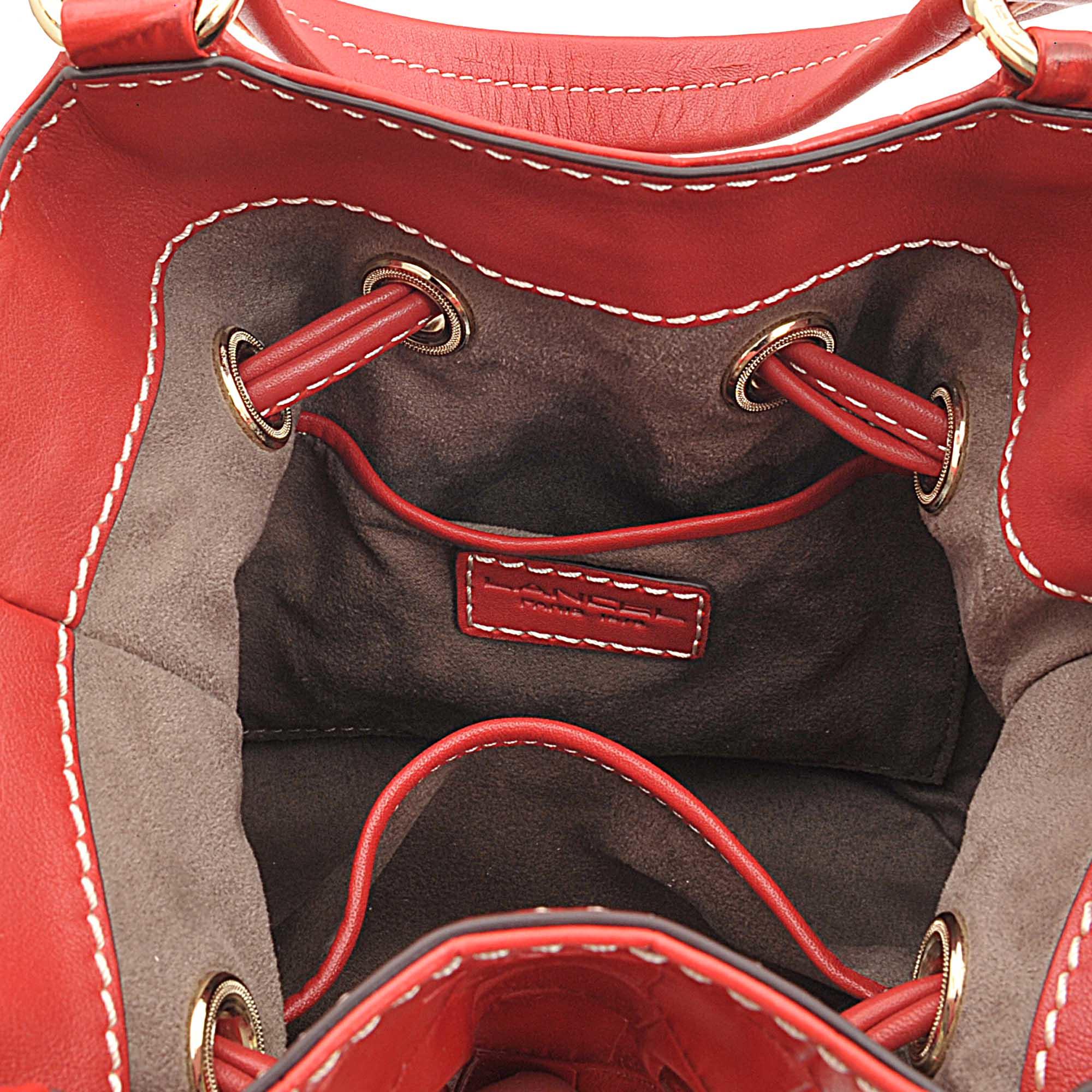 replica chloe marcie - lancel bags albertine small bucket bag, cheap lancel bags
