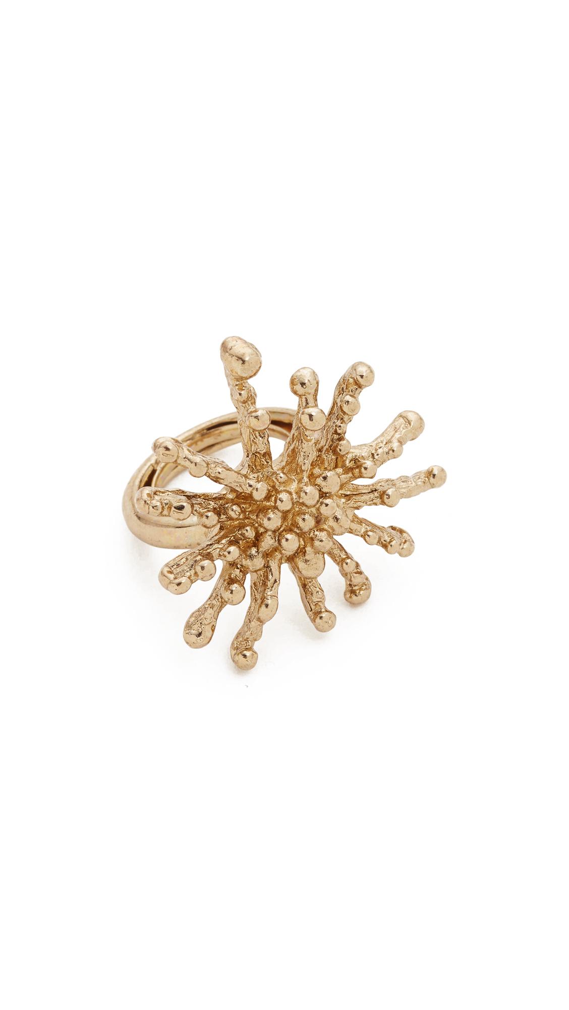 Oscar De La Renta starfish ring - Metallic lyWc6JMuQU