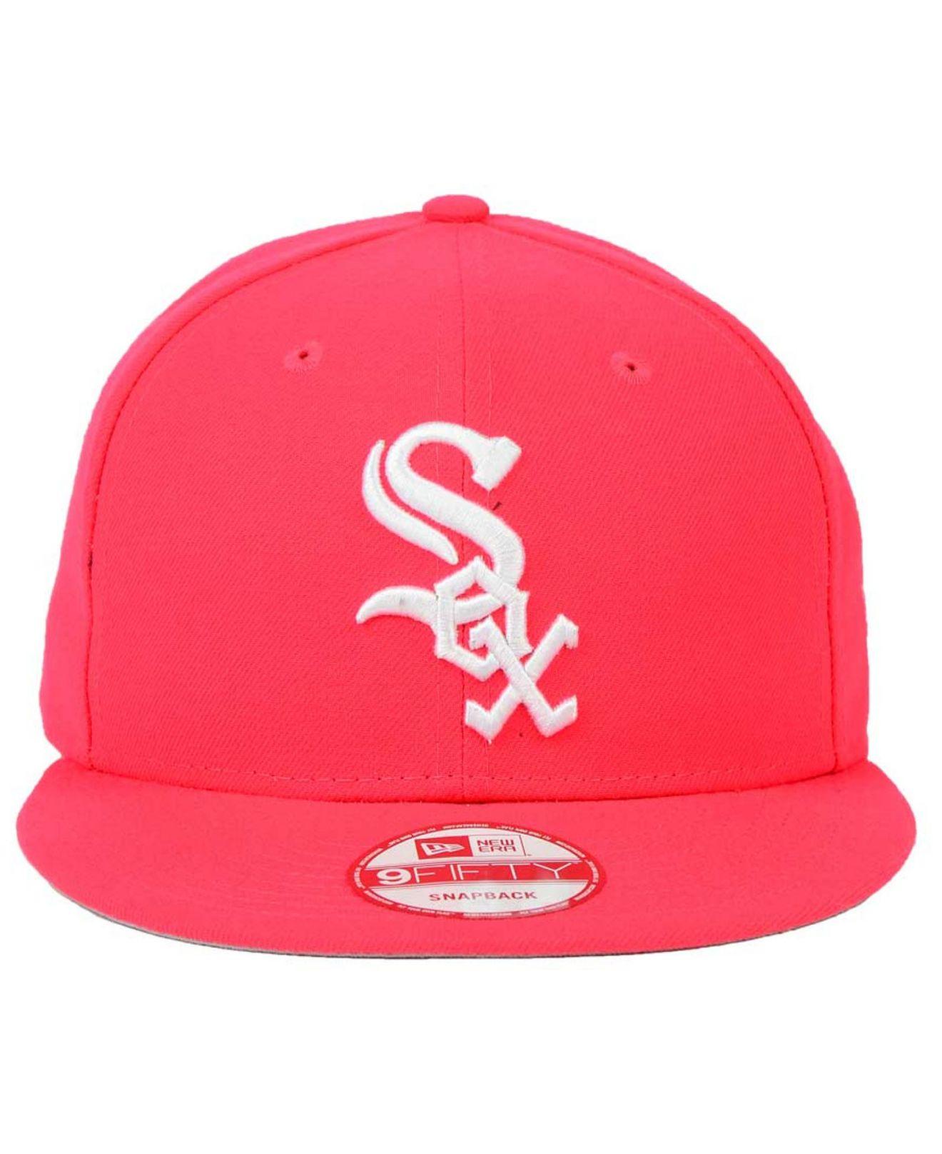 Lyst Ktz Chicago White Sox C Dub 9fifty Snapback Cap In