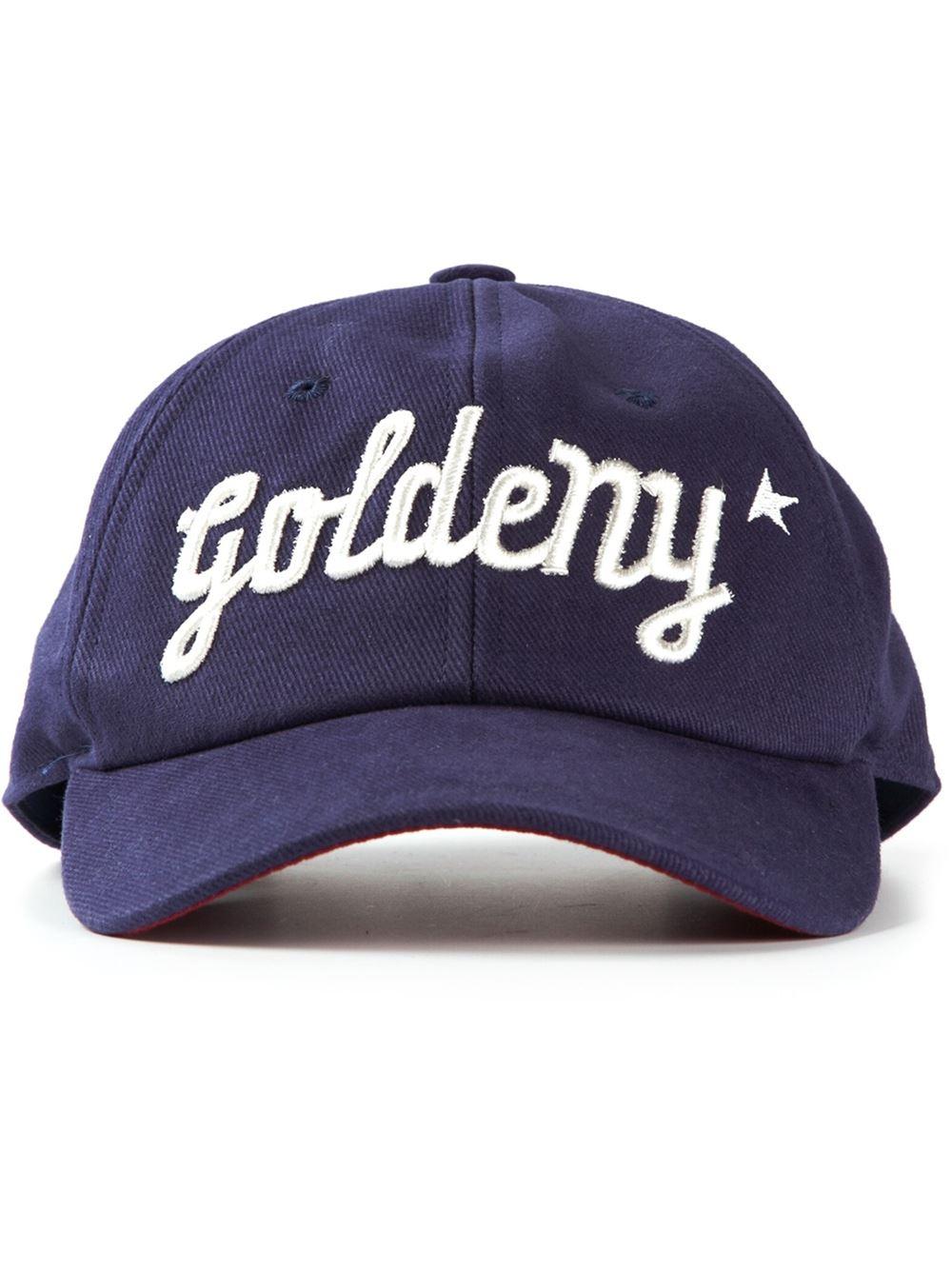 Logotipo Bordado Gorra - Gallina De Oro Azul neyw88Xv
