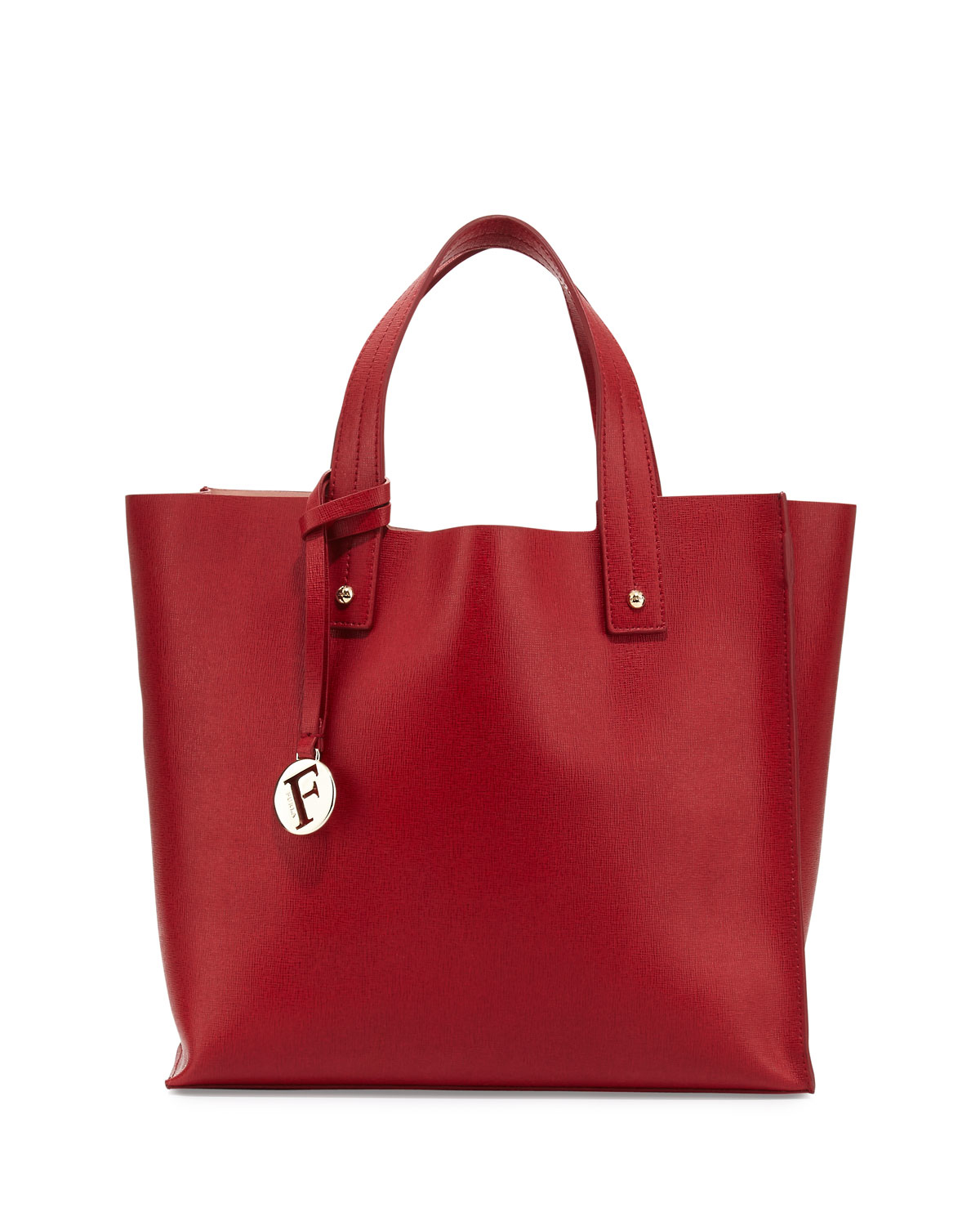 Furla Red Leather Handbag   Luggage And Suitcases