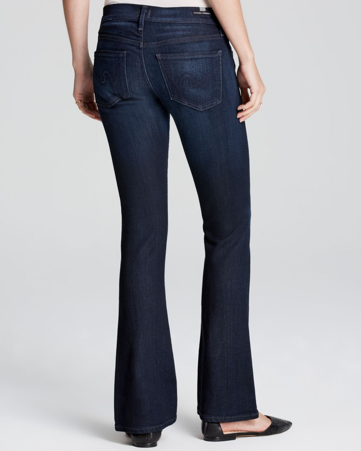 9d83612100a Citizens of Humanity Jeans - Emanuelle Petite Slim Bootcut In Space ...