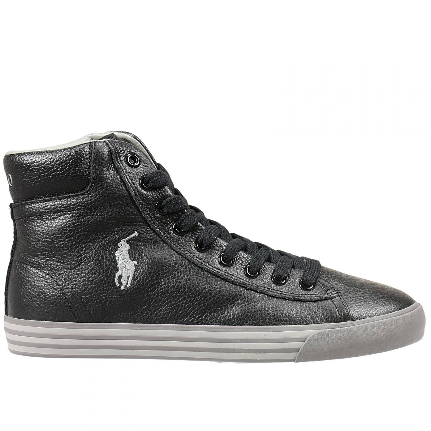 polo ralph lauren sneakers in black for men lyst. Black Bedroom Furniture Sets. Home Design Ideas