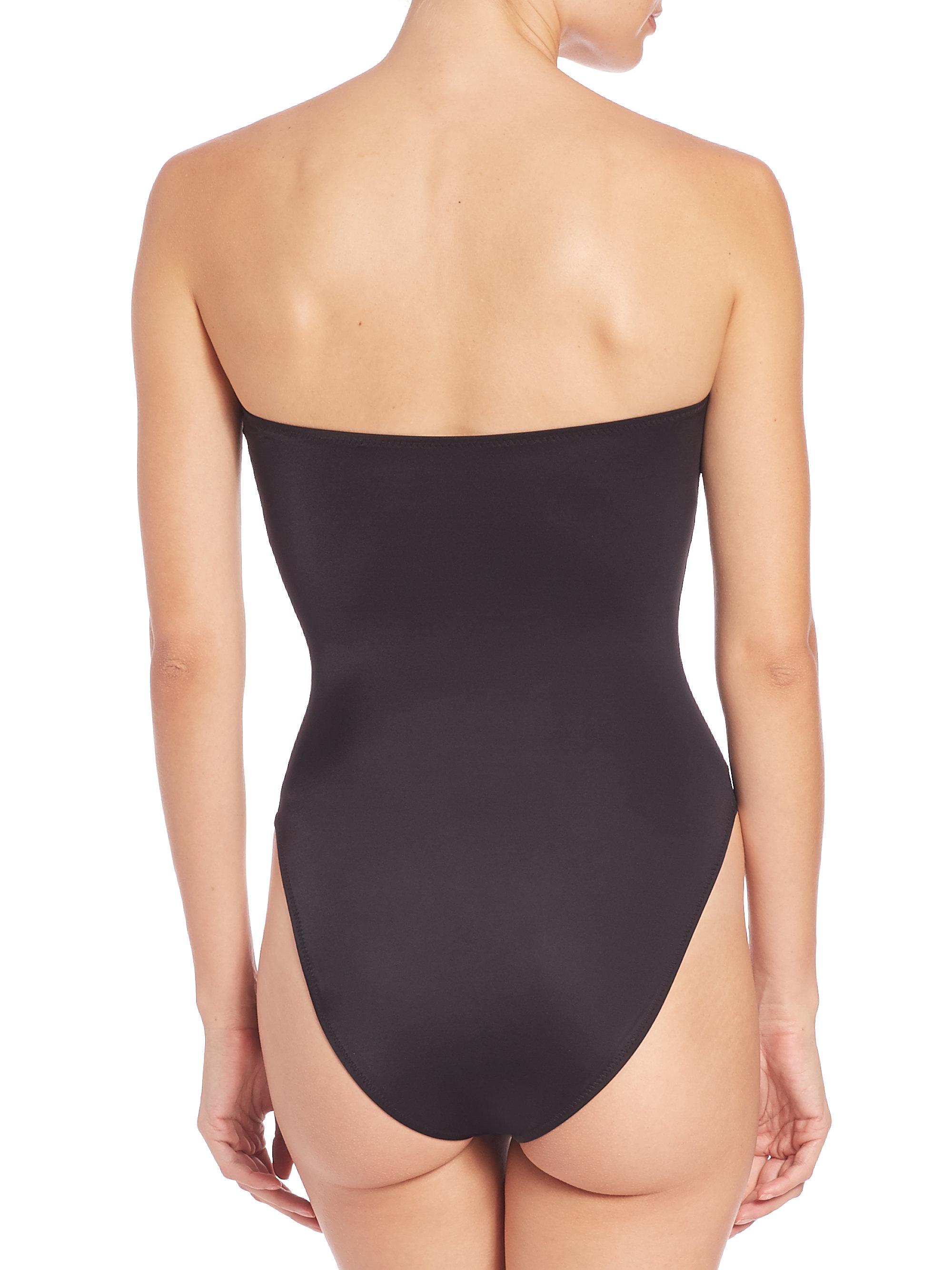 Acheter Des Rabais À Bas Prix Livraison Gratuite Moins Cher Norma Kamali Bikini bandeau Bishop En Ligne Pas Cher En Ligne Achat De Réduction CJ8lWp