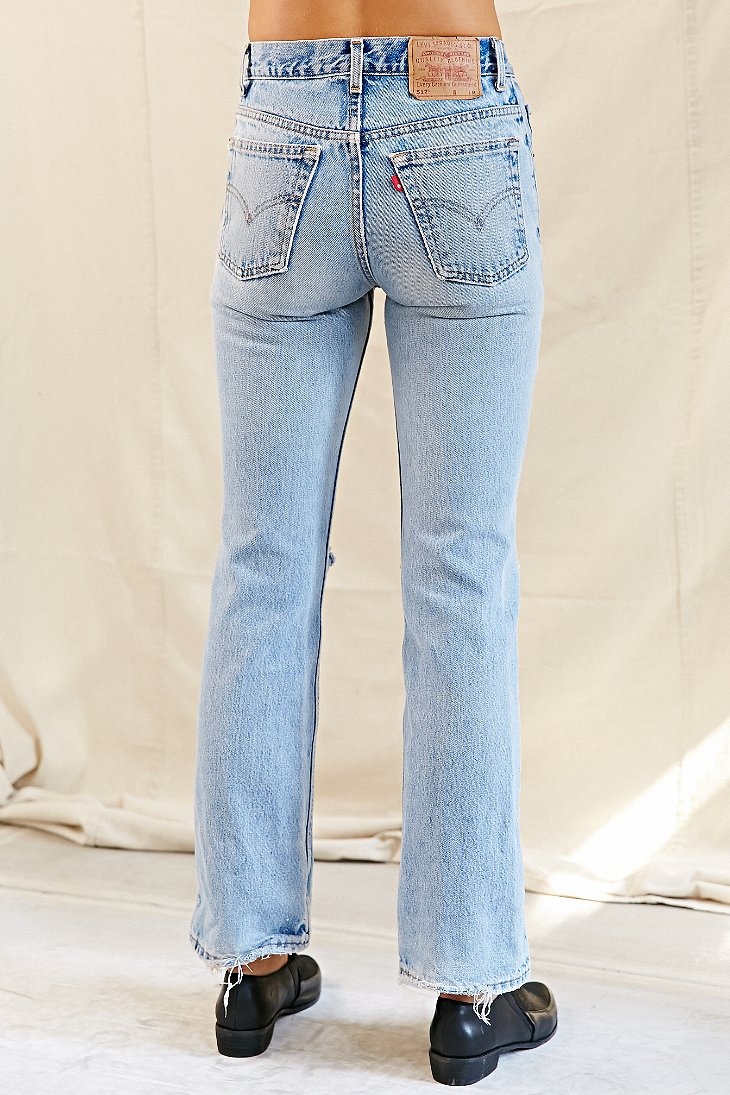 0f9c4701 Urban Renewal Vintage Split-knee Levi's 517 Jean in Blue - Lyst