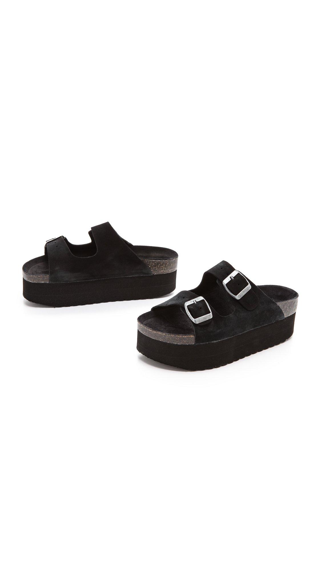 Lyst Jeffrey Campbell Aurelia Platform Sandals Black In