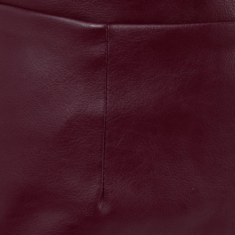 River Island Purple Leather Skirt