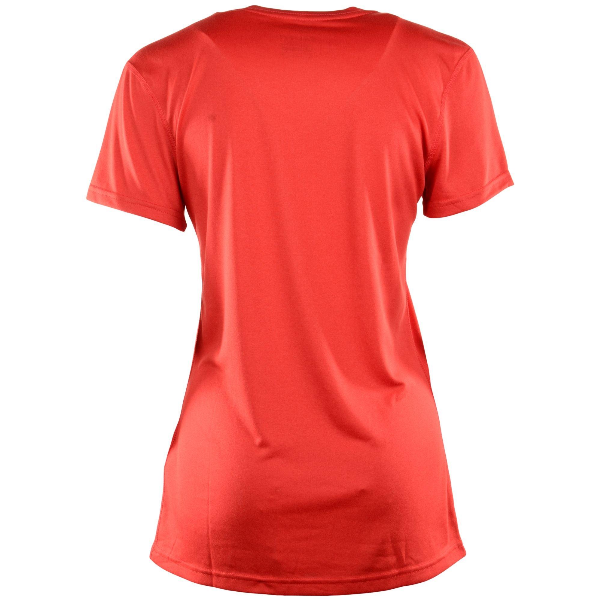 nike women 39 s short sleeve st louis cardinals dri fit legend t shirt in red lyst. Black Bedroom Furniture Sets. Home Design Ideas