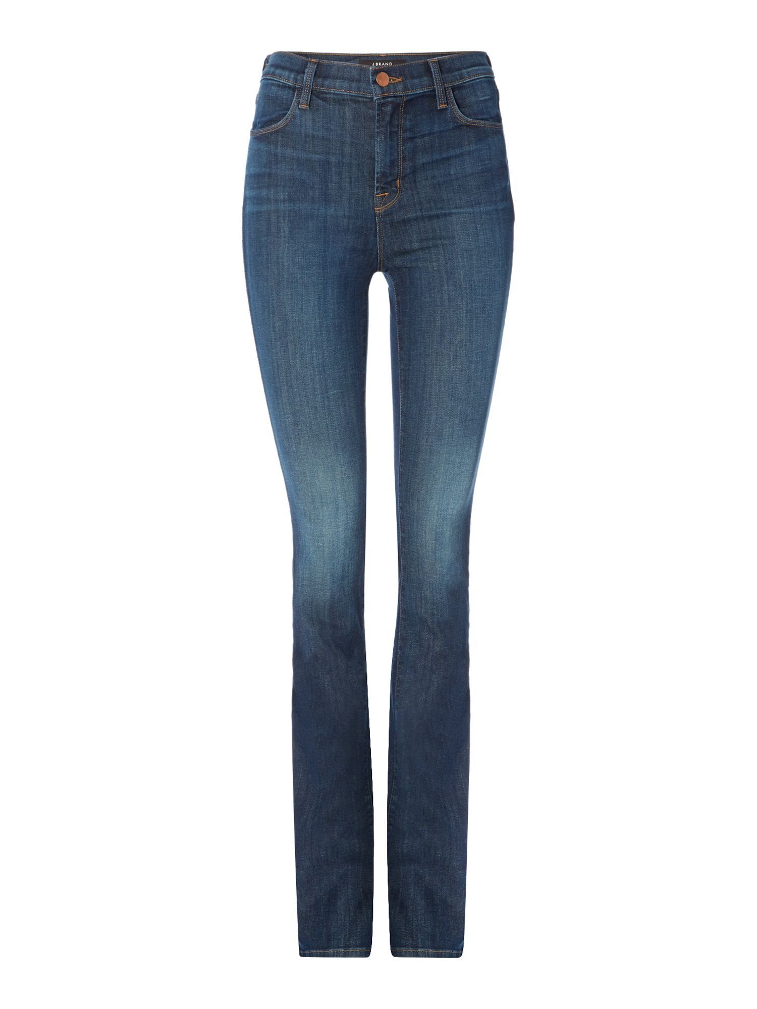 J brand Remy High Rise Boot Cut Jeans In Storm in Blue | Lyst