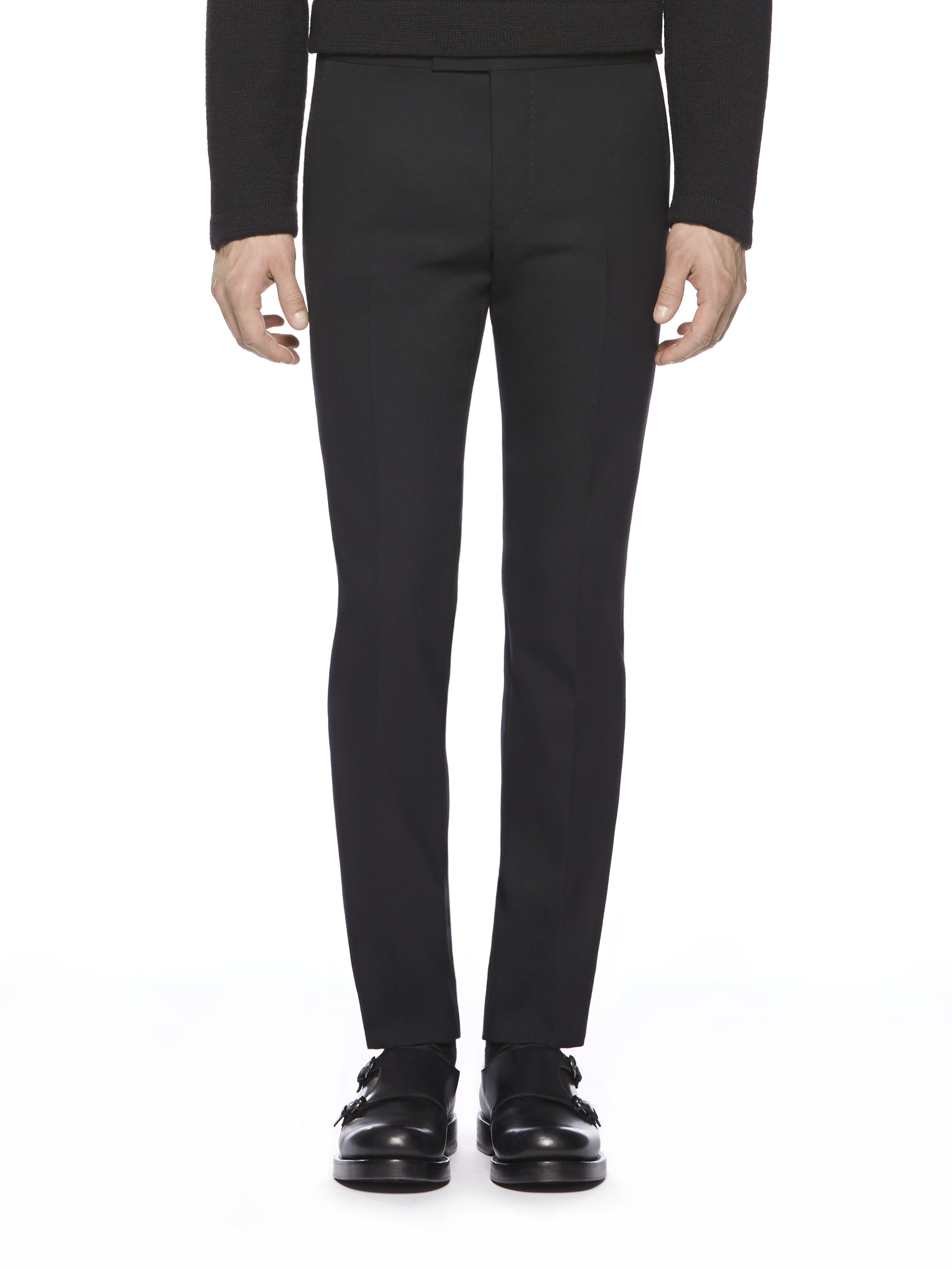 Lyst - Gucci Sharp Evening Pant In Black For Men