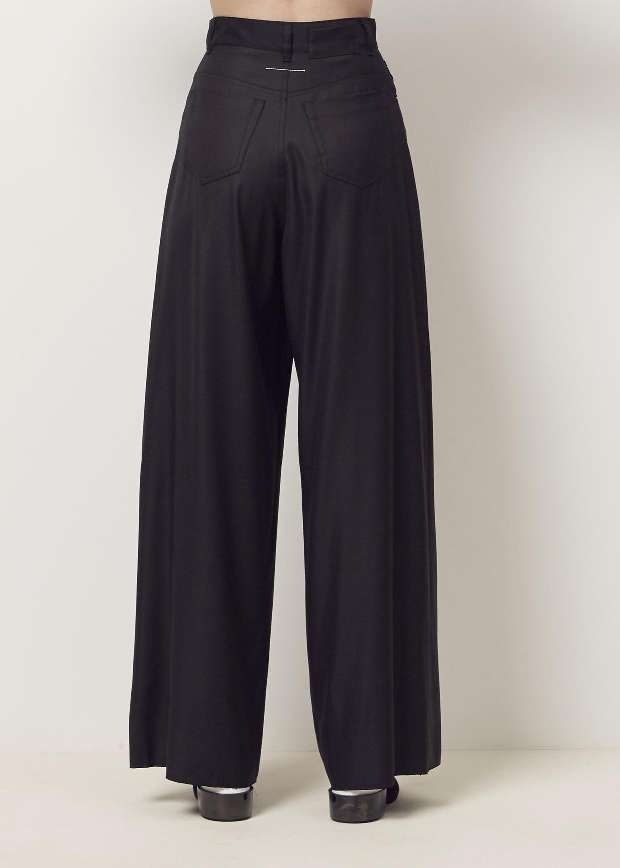 wide leg trousers - Black Maison Martin Margiela Ct5zLx35