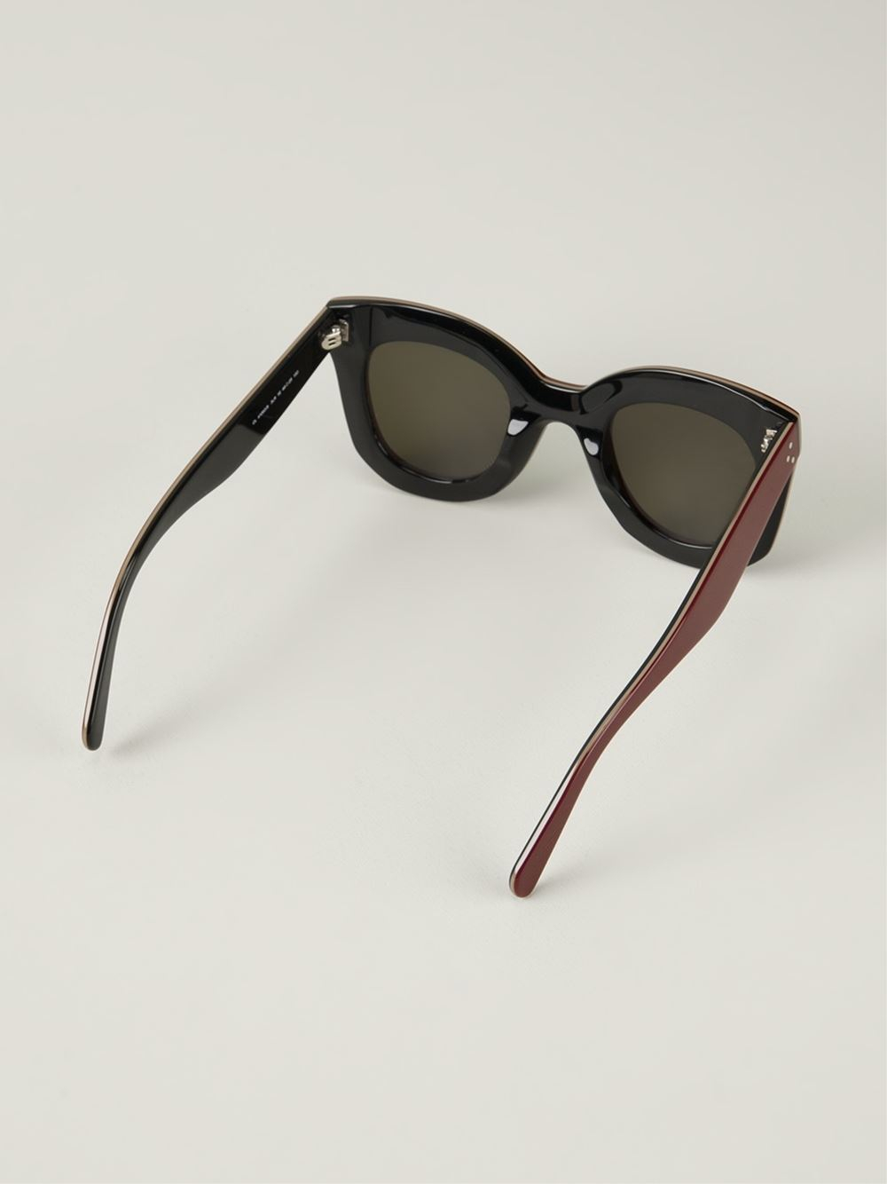 cebde98eec Celine Red Cat Eye Sunglasses