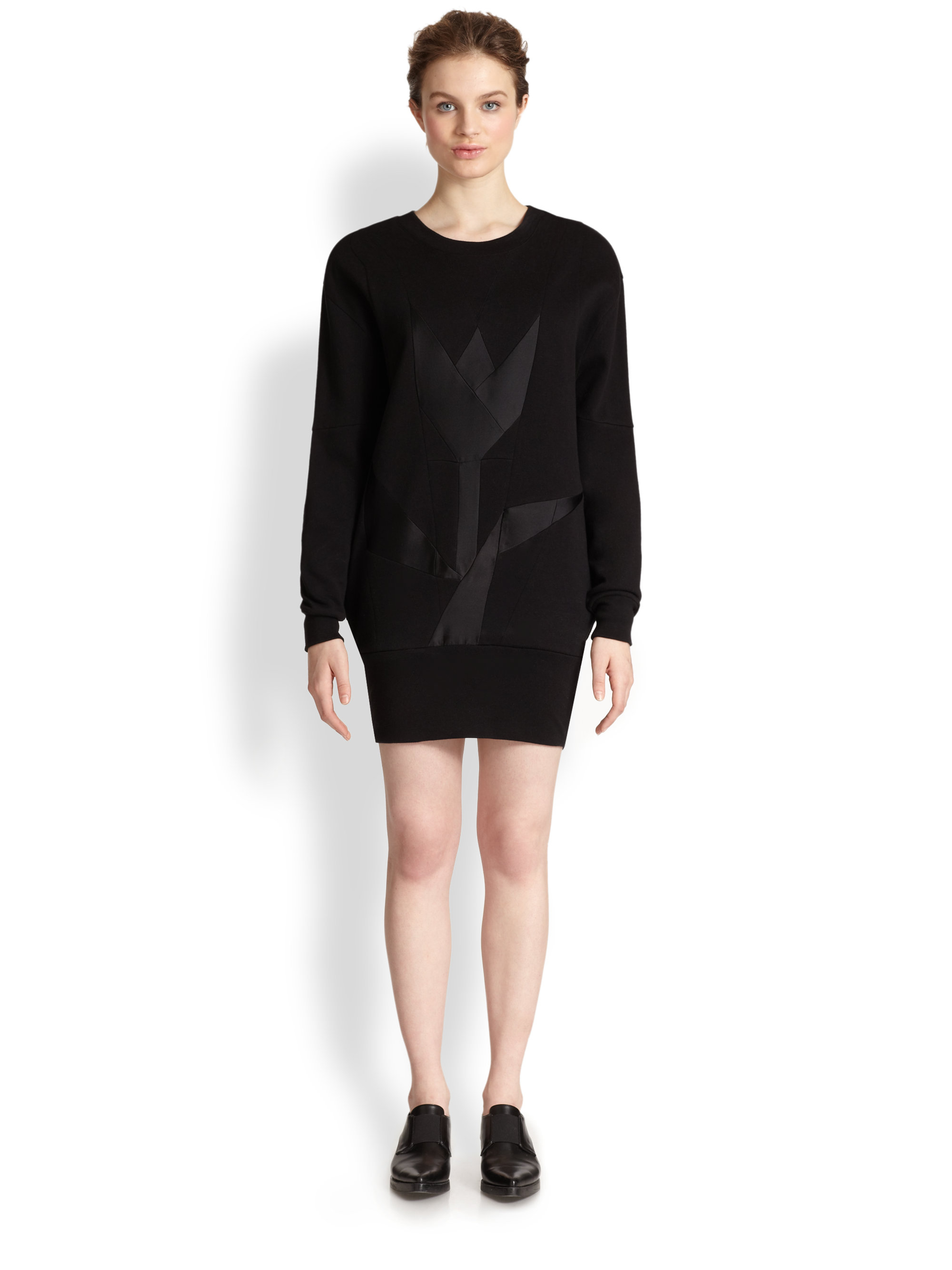 sweatshirt dress - Black Stella McCartney YKwLj
