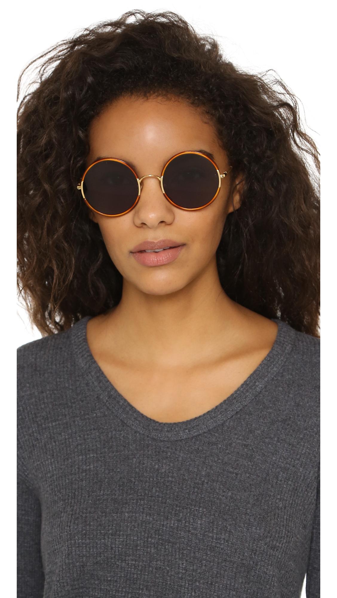 round yetti sunglasses - Brown Sunday Somewhere A2gfUqY