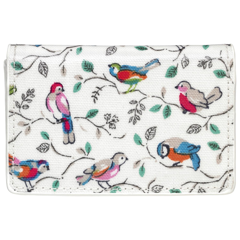 Cath kidston little birds business card holder in white lyst gallery colourmoves