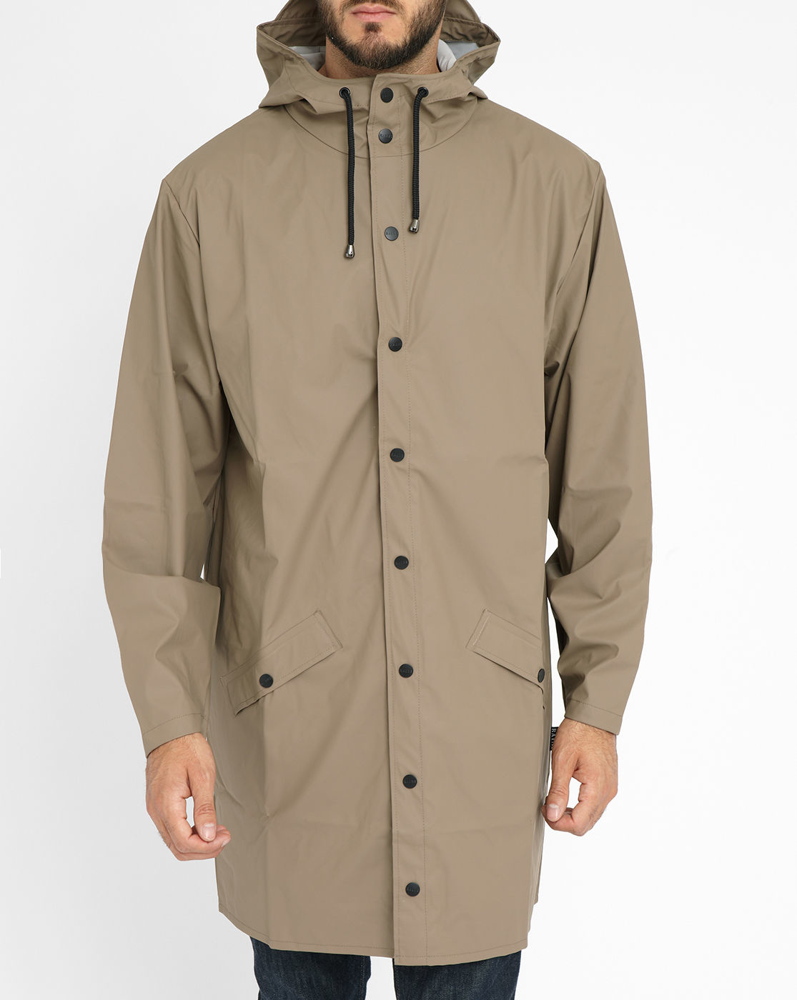Mens Long Waterproof Jacket | Fit Jacket