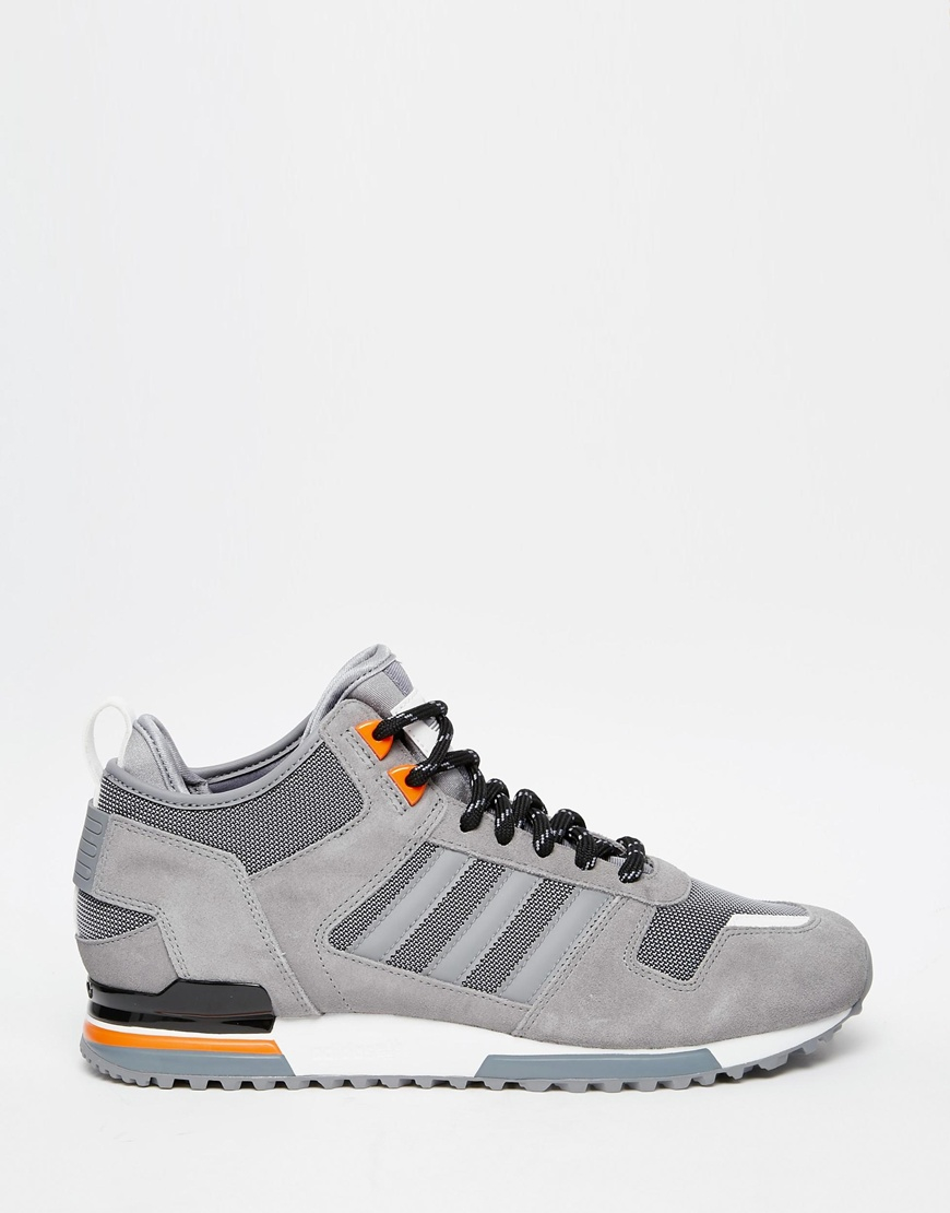 info for 9c96b 349ac adidas Originals Zx 700 Winter Trainers B35238 in Gray for Men - Lyst