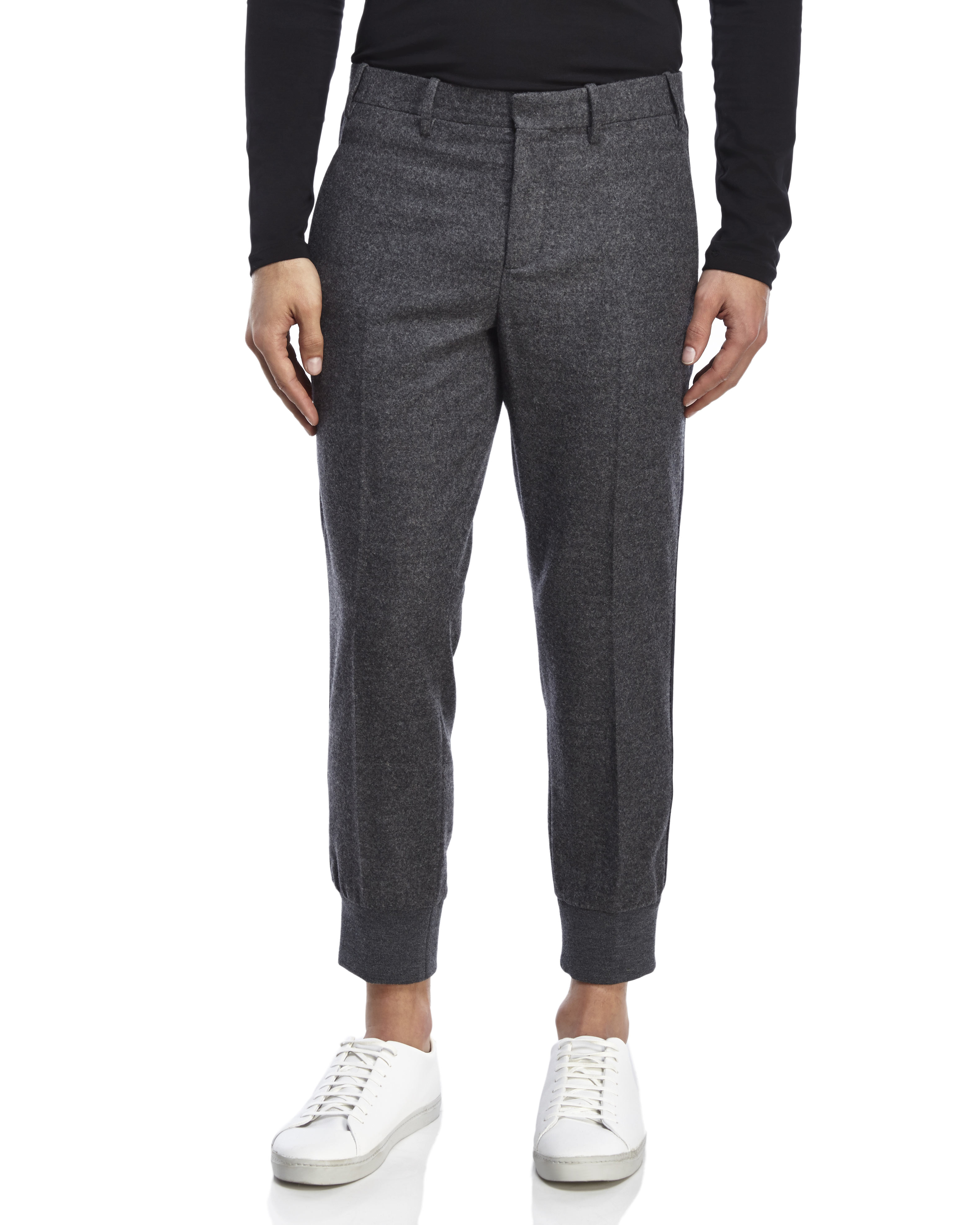 cropped tuxedo trousers - Black Neil Barrett Grey Outlet Store Online Free Shipping Newest Clearance Good Selling m94Bn