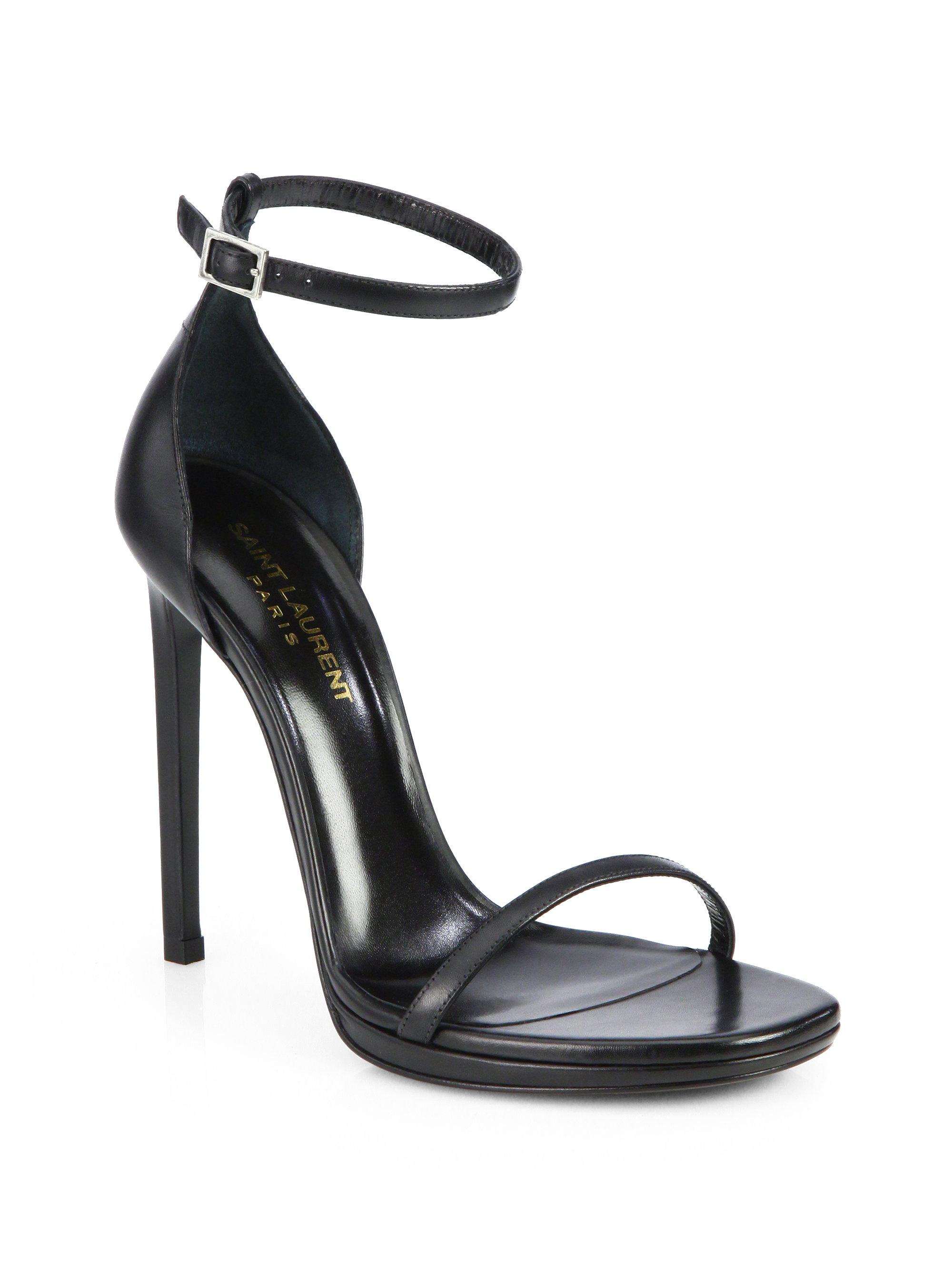 New Styles Online Official Online Jane 105 sandals - Black Saint Laurent Shop Cheap Price LrfLDv