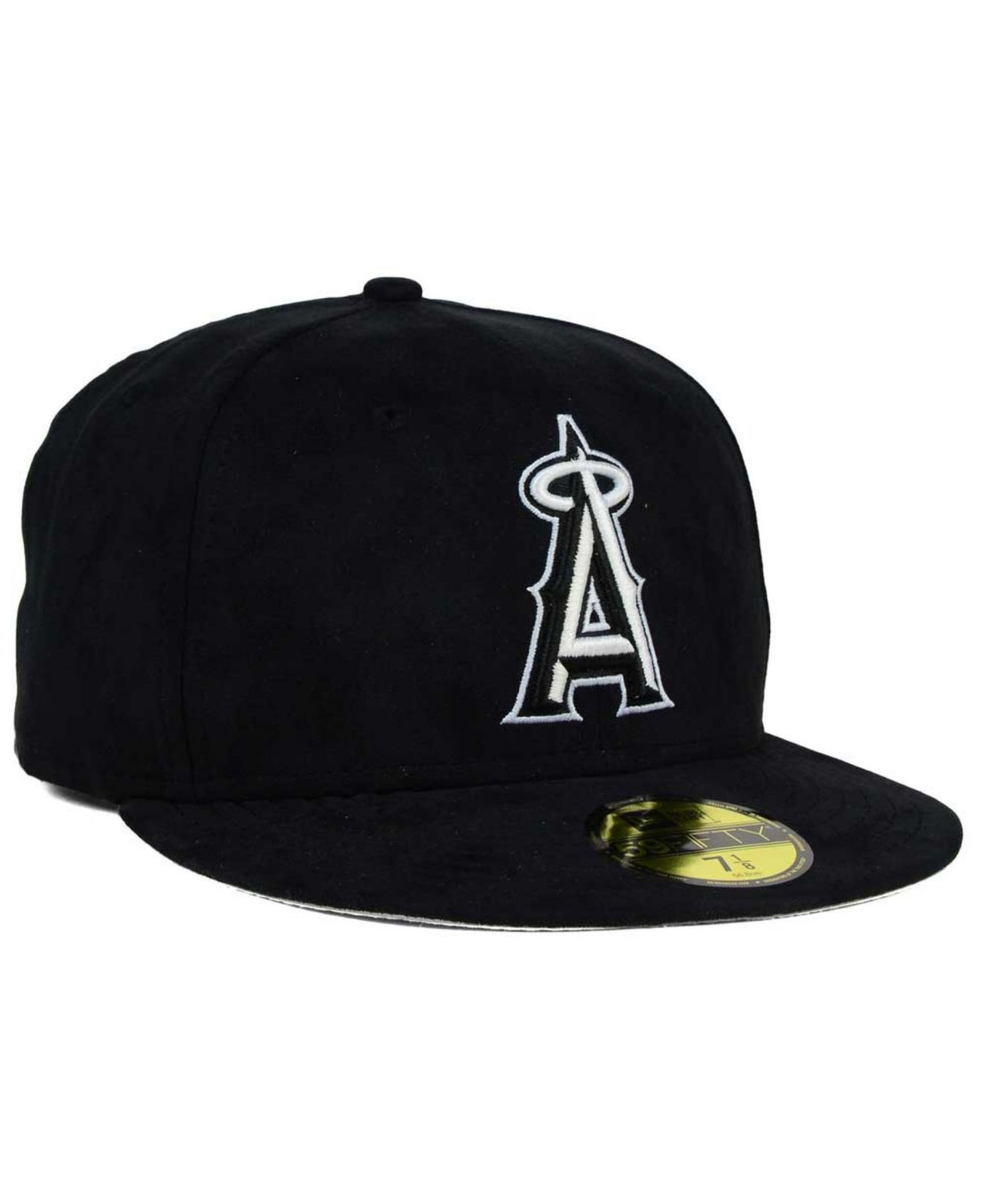 best service e76f7 d31a7 ... australia lyst ktz los angeles angels of anaheim suede out 59fifty cap  in 3026c 3a512