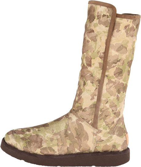 48cff95132474 Green Camouflage Ugg Boots