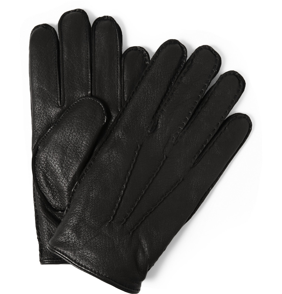 Mens leather gloves thinsulate - Gallery