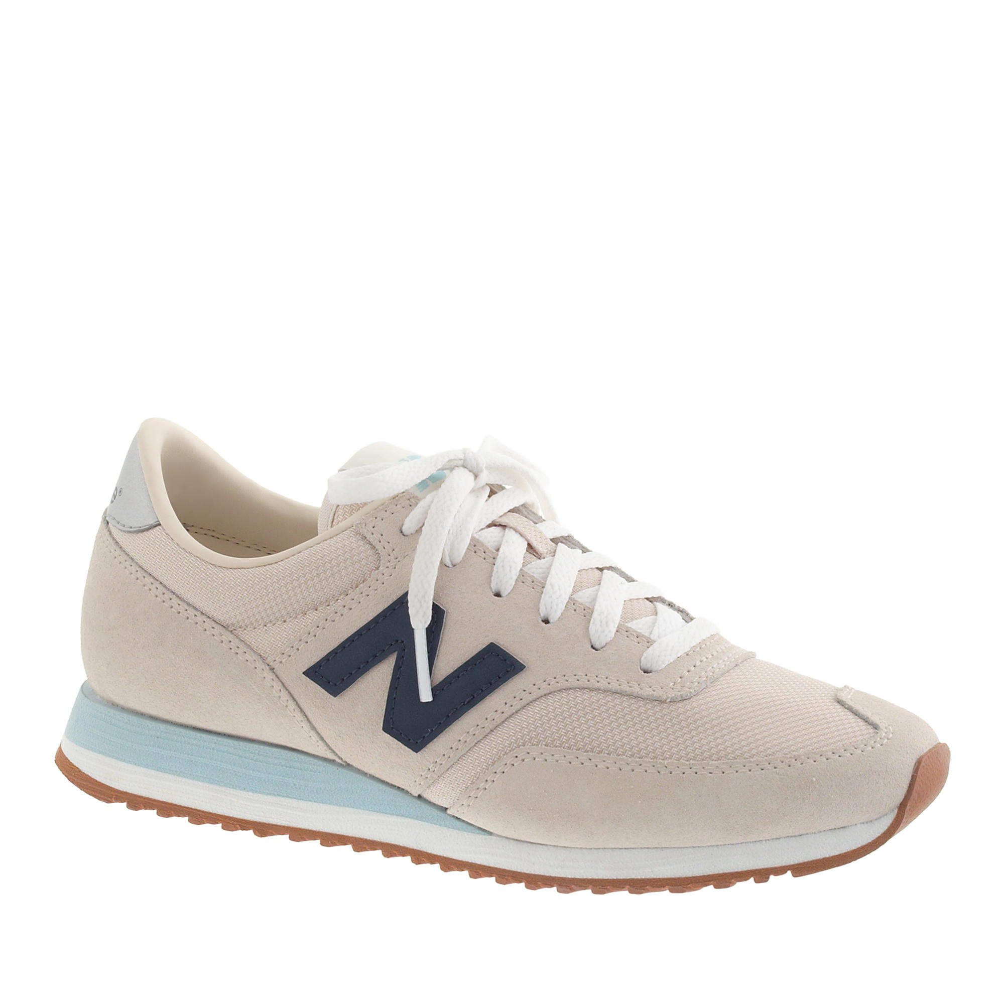 0a61fc1ffbc3 Lyst - J.Crew Women s New Balance 620 Sneakers in Natural