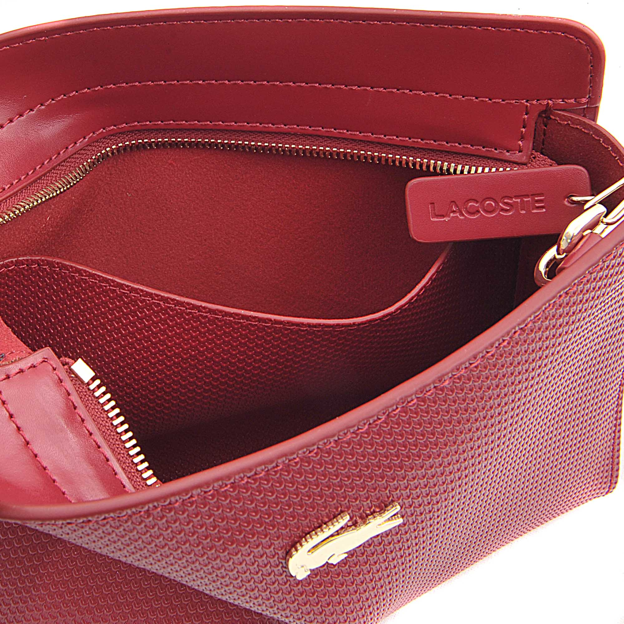 3ab97d506d Lyst - Lacoste Chantaco Small Bag Cross-body in Purple