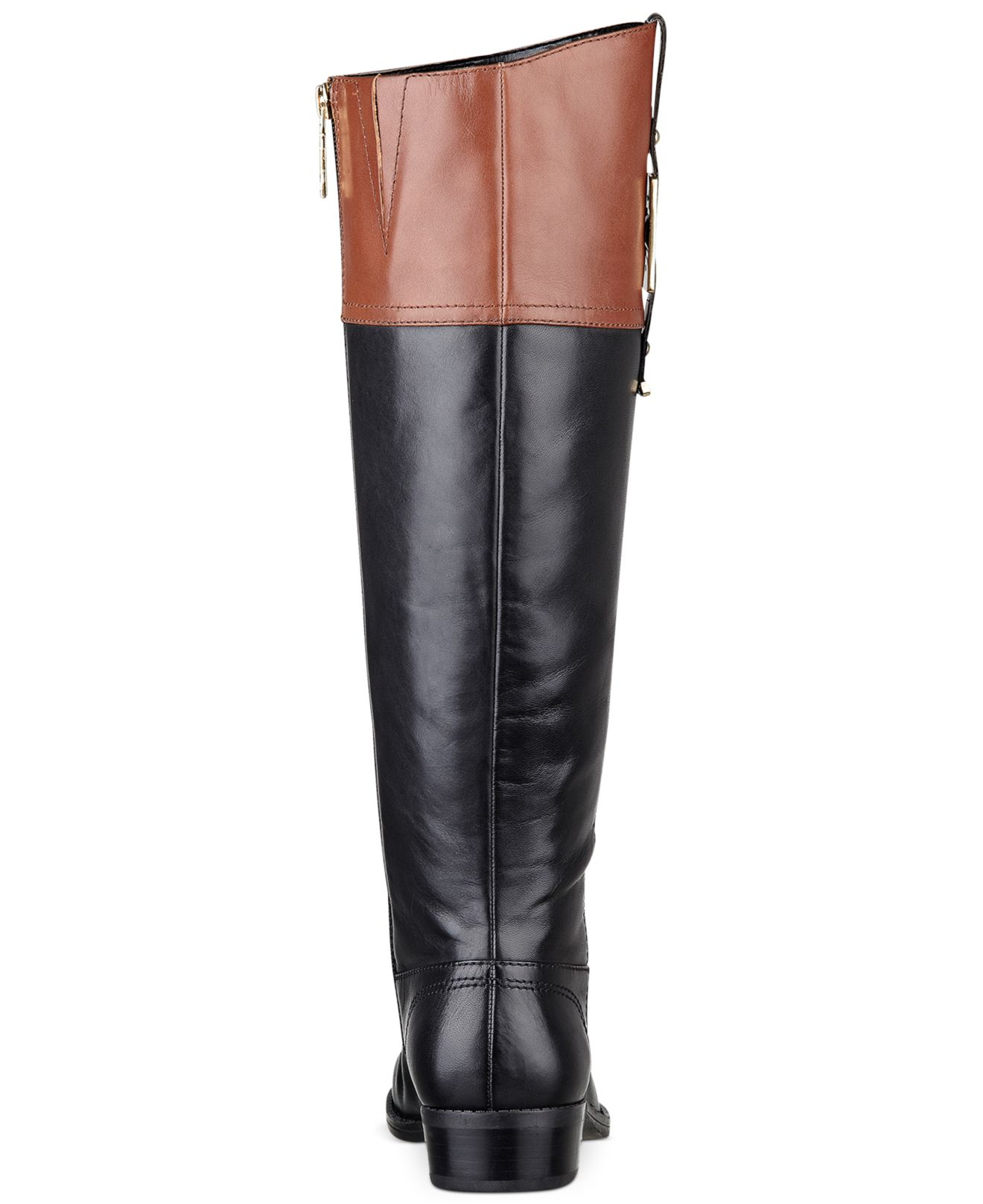tommy hilfiger women 39 s gibsy tall riding boots in black lyst. Black Bedroom Furniture Sets. Home Design Ideas