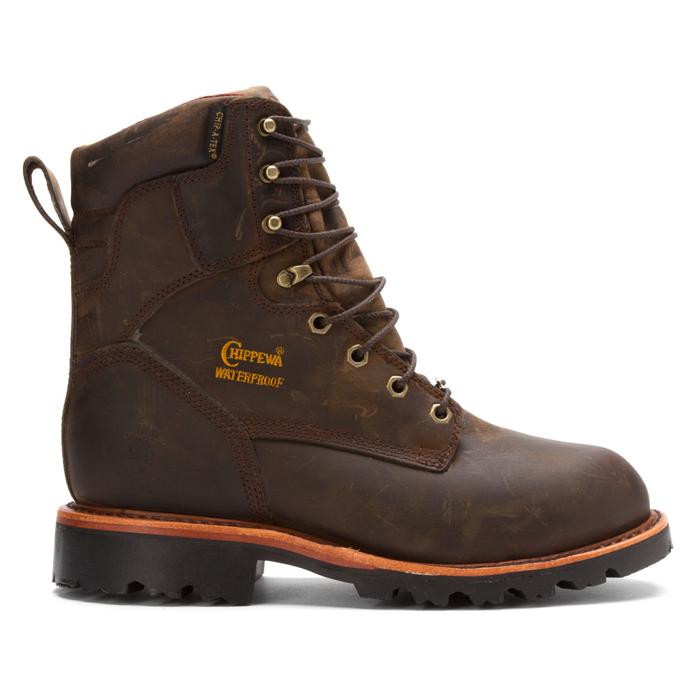 Lyst Chippewa 26330 8 Inch Bay Apache St Eh In Brown For Men