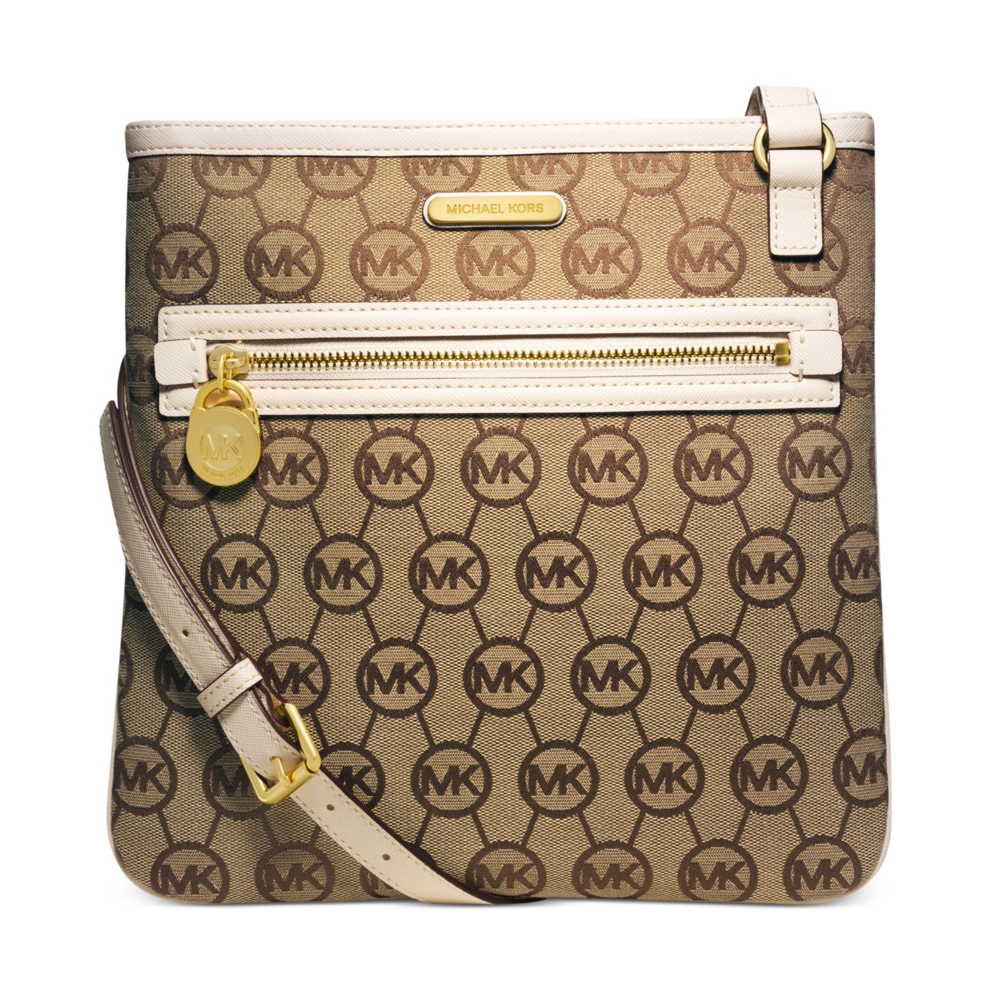 83b255e01d Gallery. Previously sold at  Macy s · Women s Michael By Michael Kors Jet  Set ...