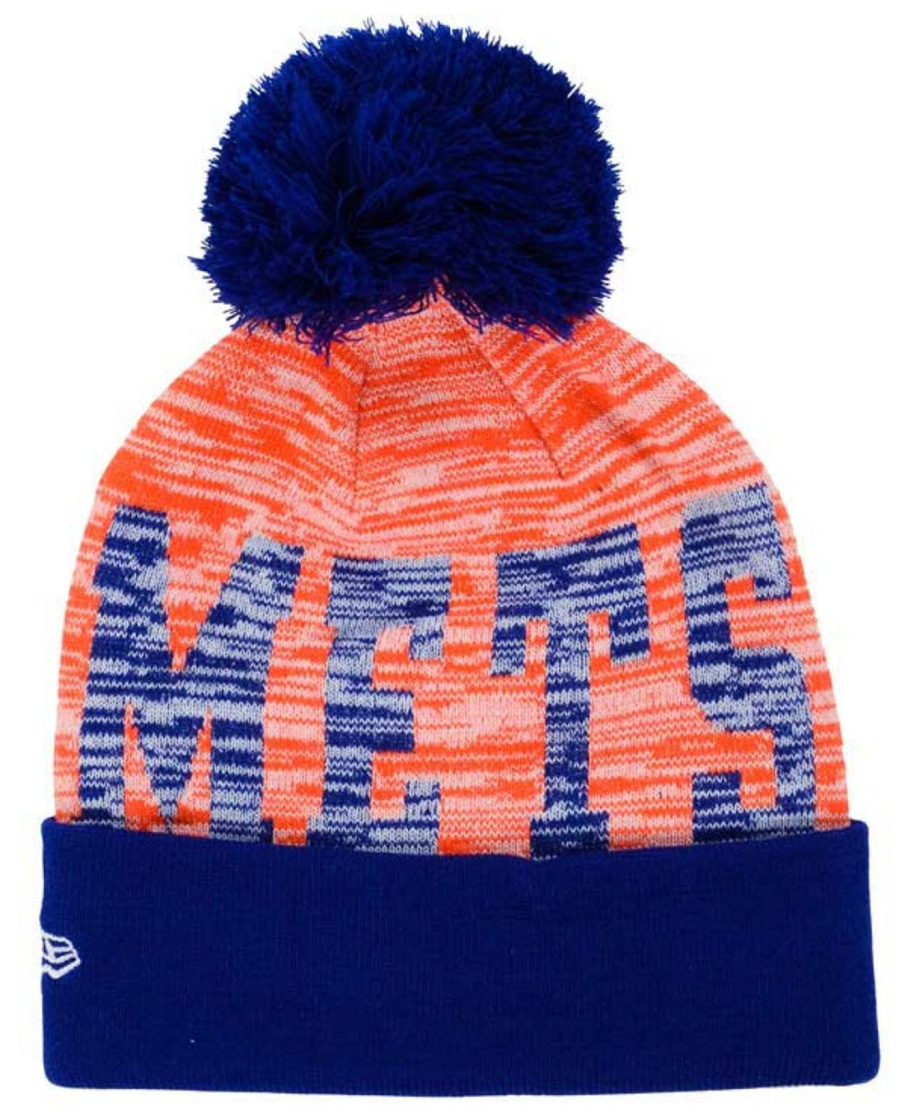 new product 42503 63a2a ... discount code for lyst ktz new york mets word fuzz knit hat in orange  for men