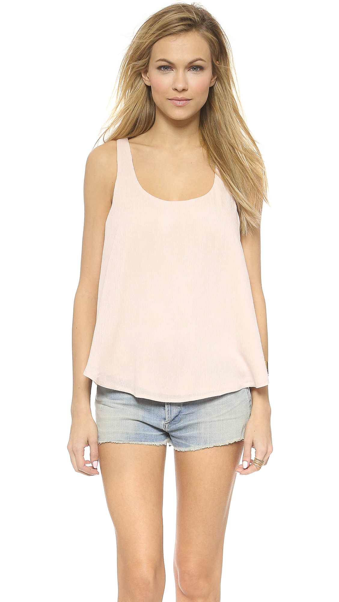 Love Sadie Lace Cami In Pink Lyst