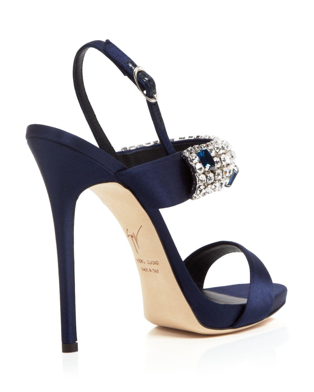 Lyst - Giuseppe Zanotti Open Toe Platform Evening Sandals - Coline ...