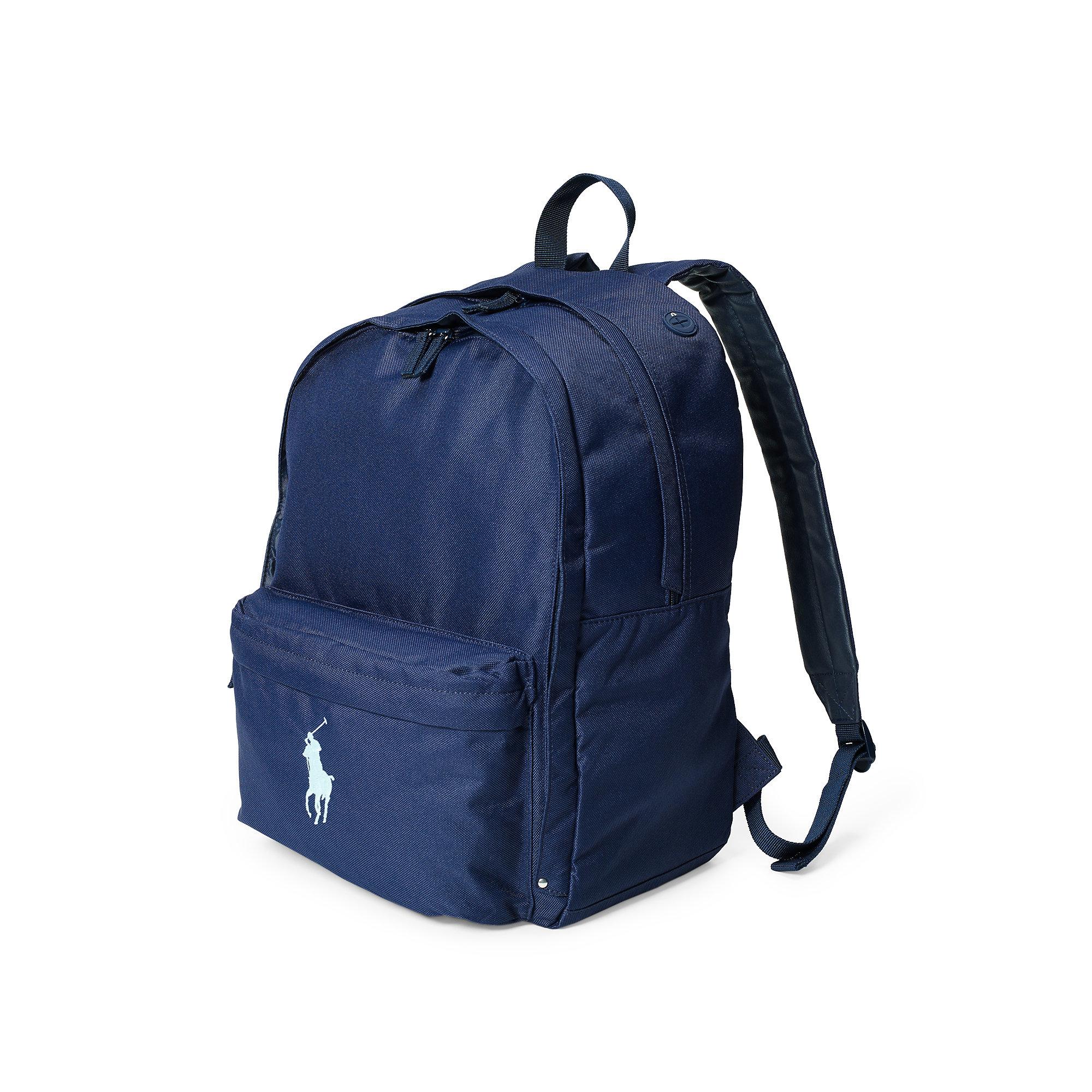 1a7daf30fc Lyst - Ralph Lauren Large Big Pony Backpack in Blue