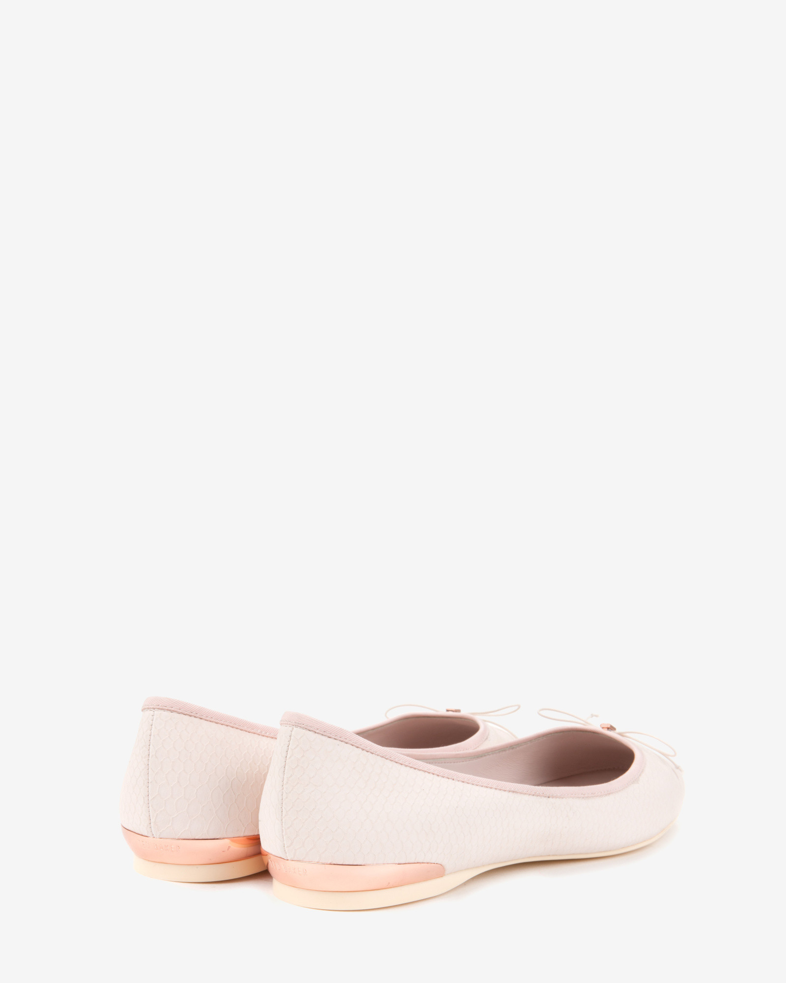 232a2492f4fb9a Ted Baker Ballet Pumps in Pink - Lyst