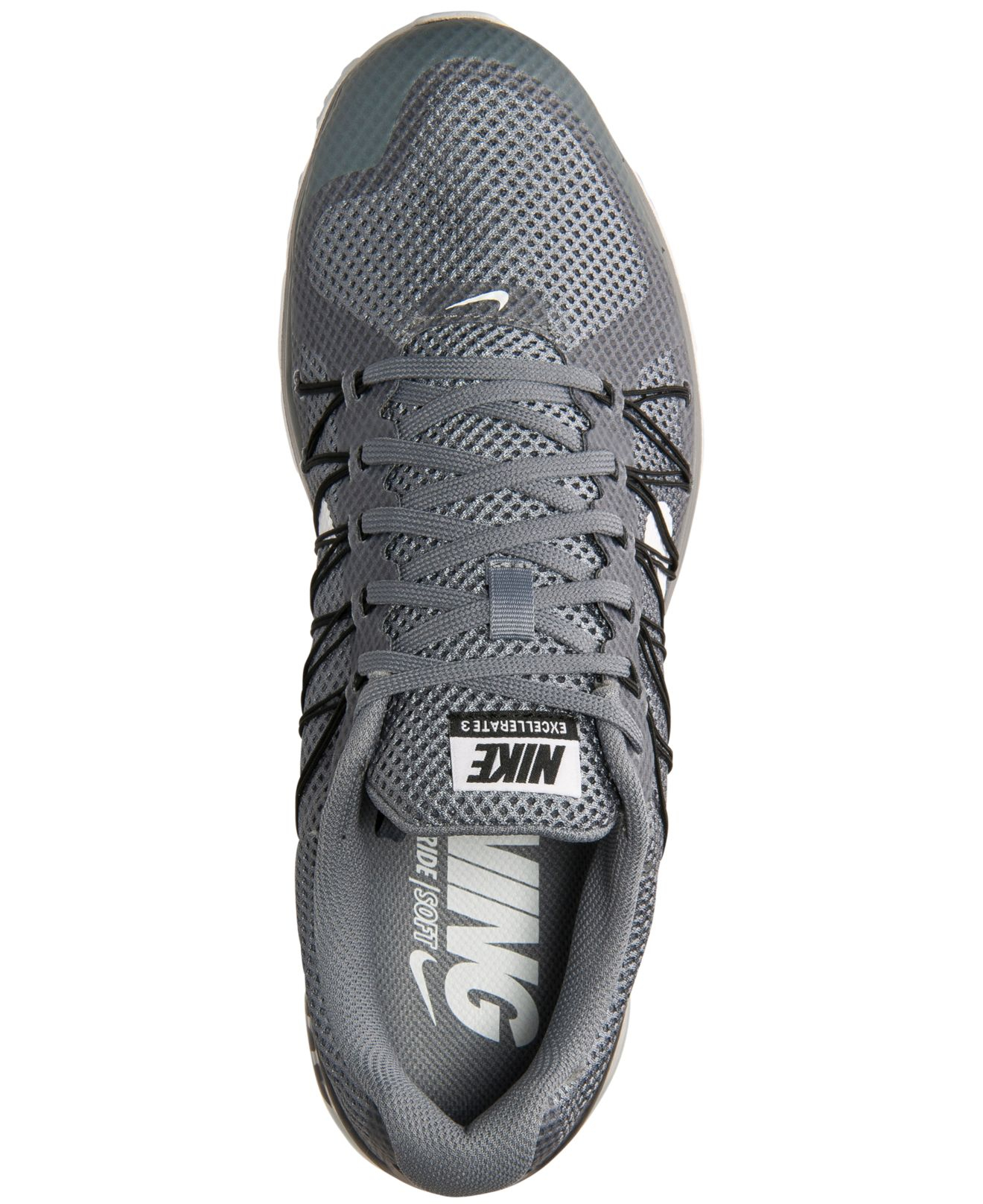 promo code 7929a 1ec87 Lyst - Nike Mens Air Max Excellerate 3 Running Sneakers From Finish Line  in Gray for Men