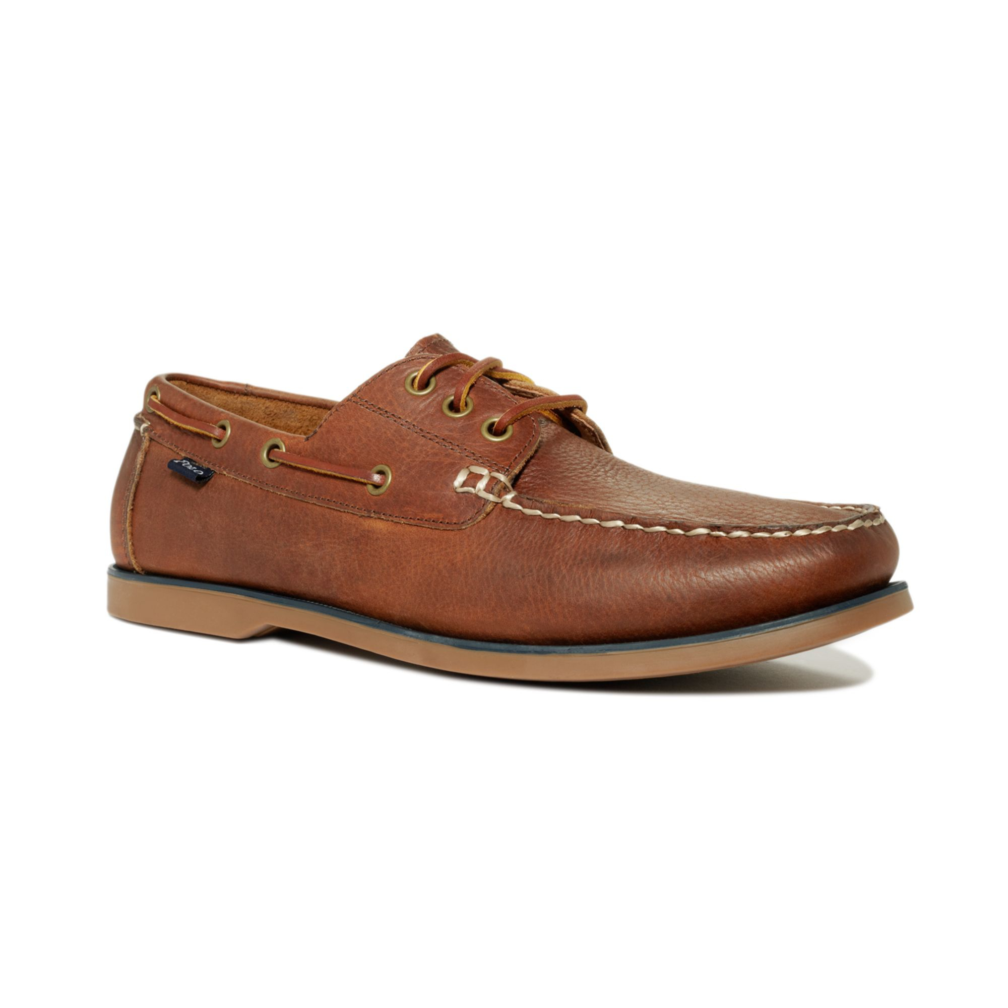 Polo Boat Shoes Brown