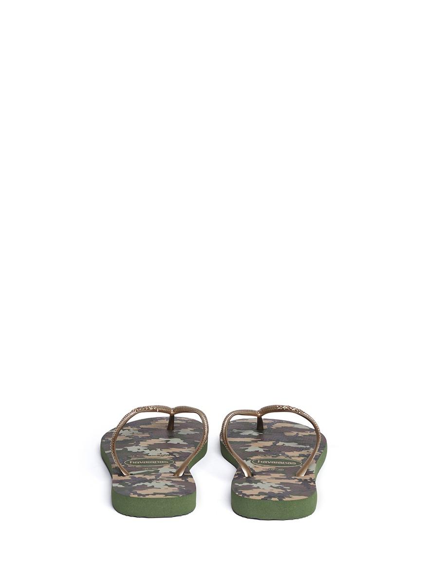 97ac970d4 Lyst - Havaianas Slim Camuflada Flip-flops