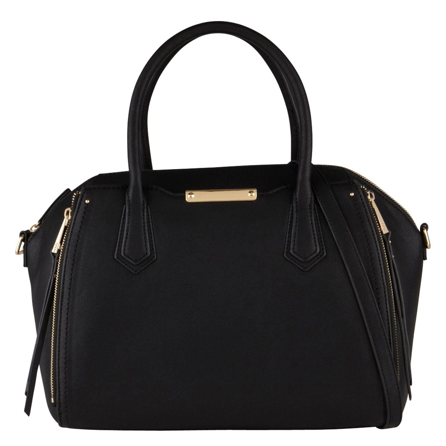 Aldo Halifax Satchel Bag in Black | Lyst