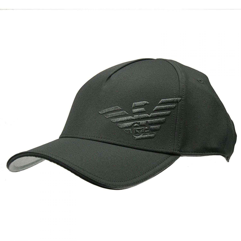 24dd55fee1e44 Giorgio Armani Hat Baseball Cotton Logo in Gray for Men - Lyst