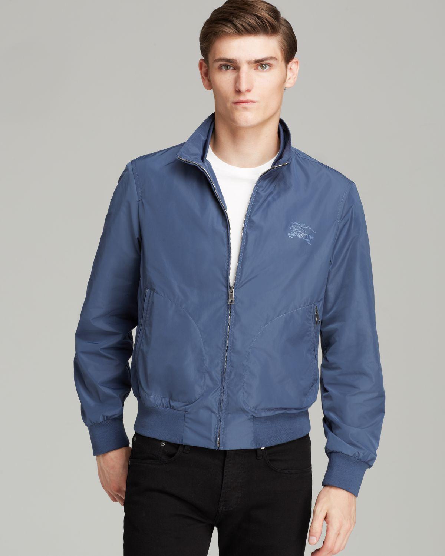 Burberry Brit Bradford Lightweight Jacket in Blue for Men | Lyst