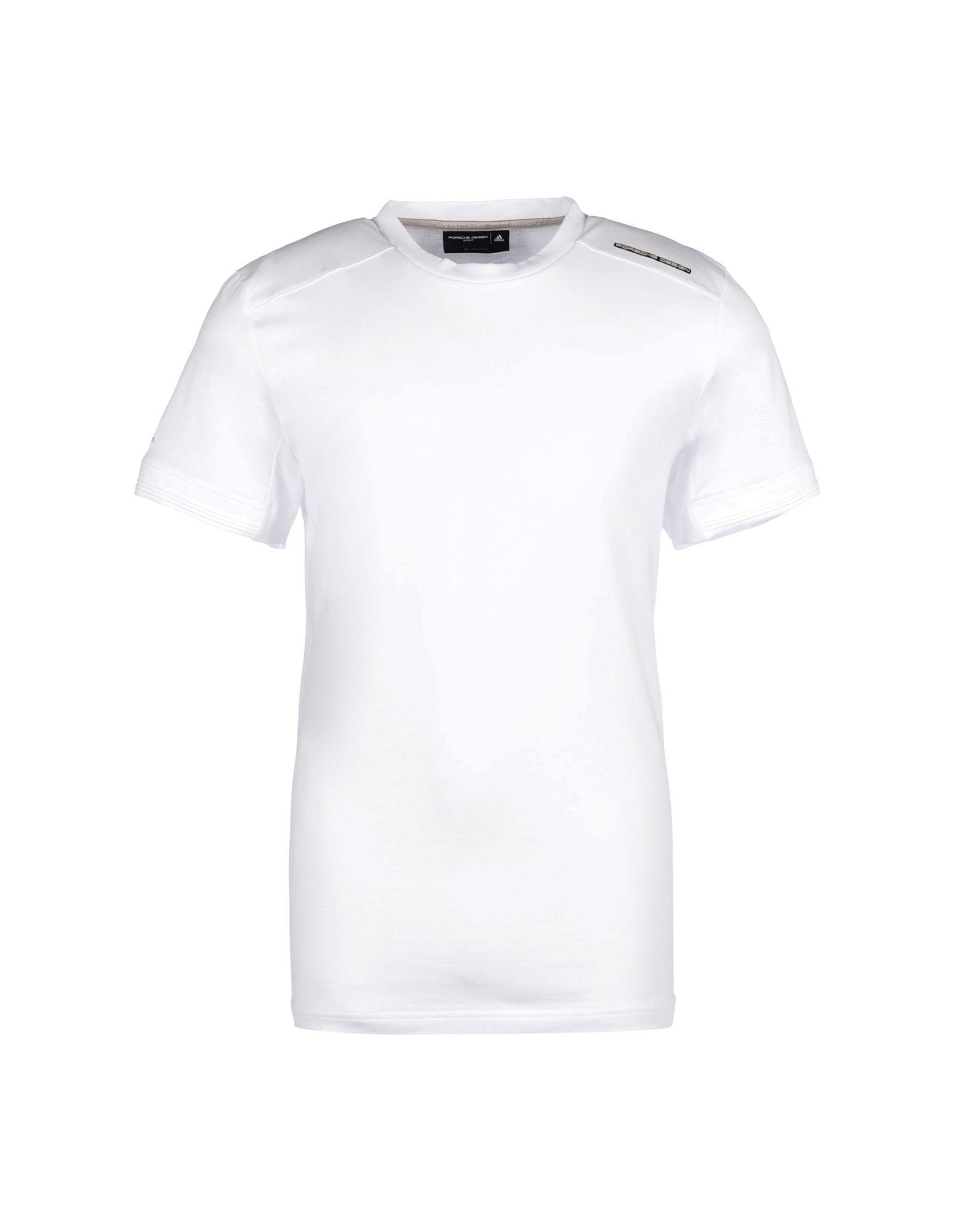 Lyst porsche design t shirt in white for men for Design t shirt sport