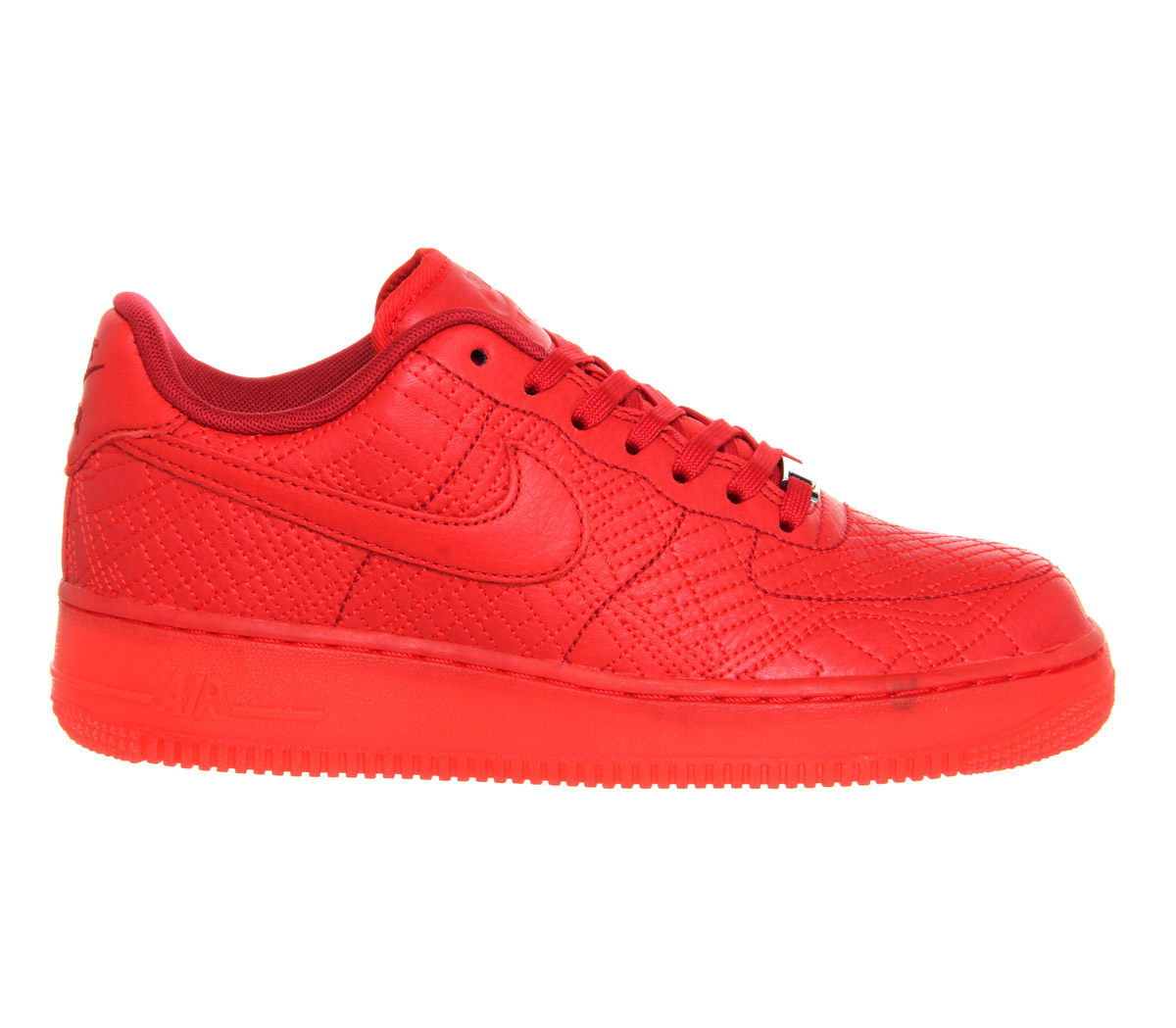 lyst nike air force 1 tokyo leather sneakers in red. Black Bedroom Furniture Sets. Home Design Ideas