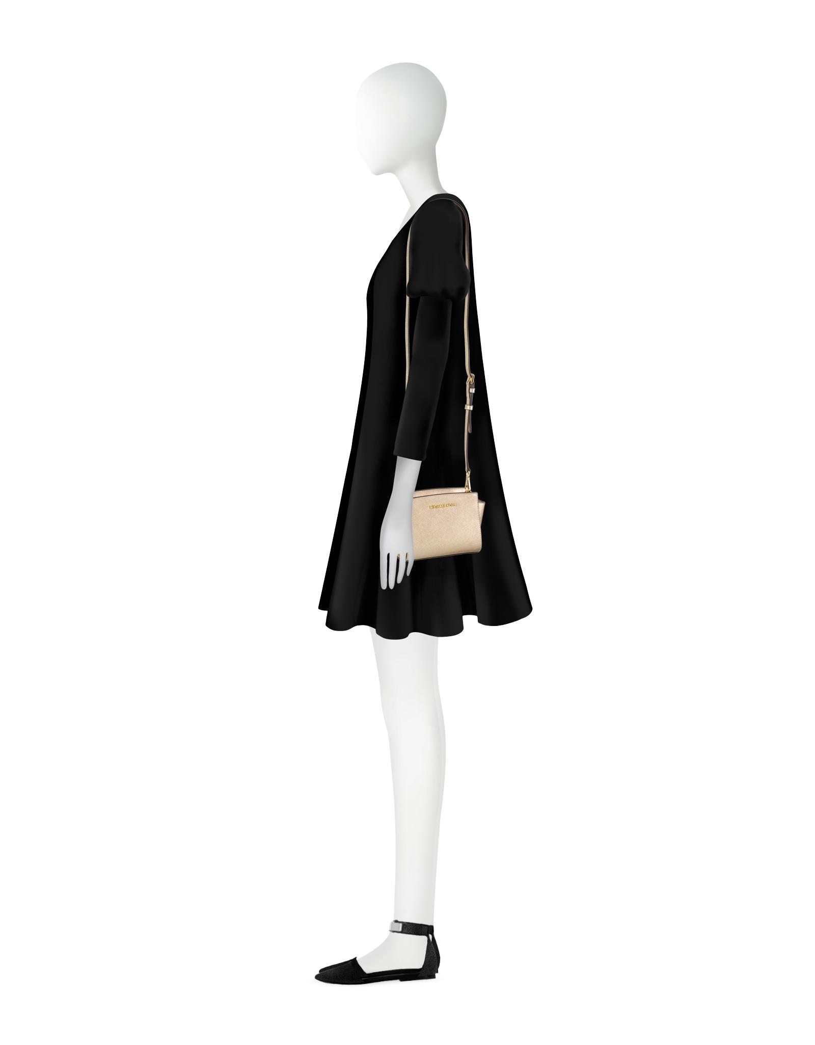 c6172969f54a9 Gallery. Women s Leather Messenger Bags Women s Michael By Michael Kors  Selma ...