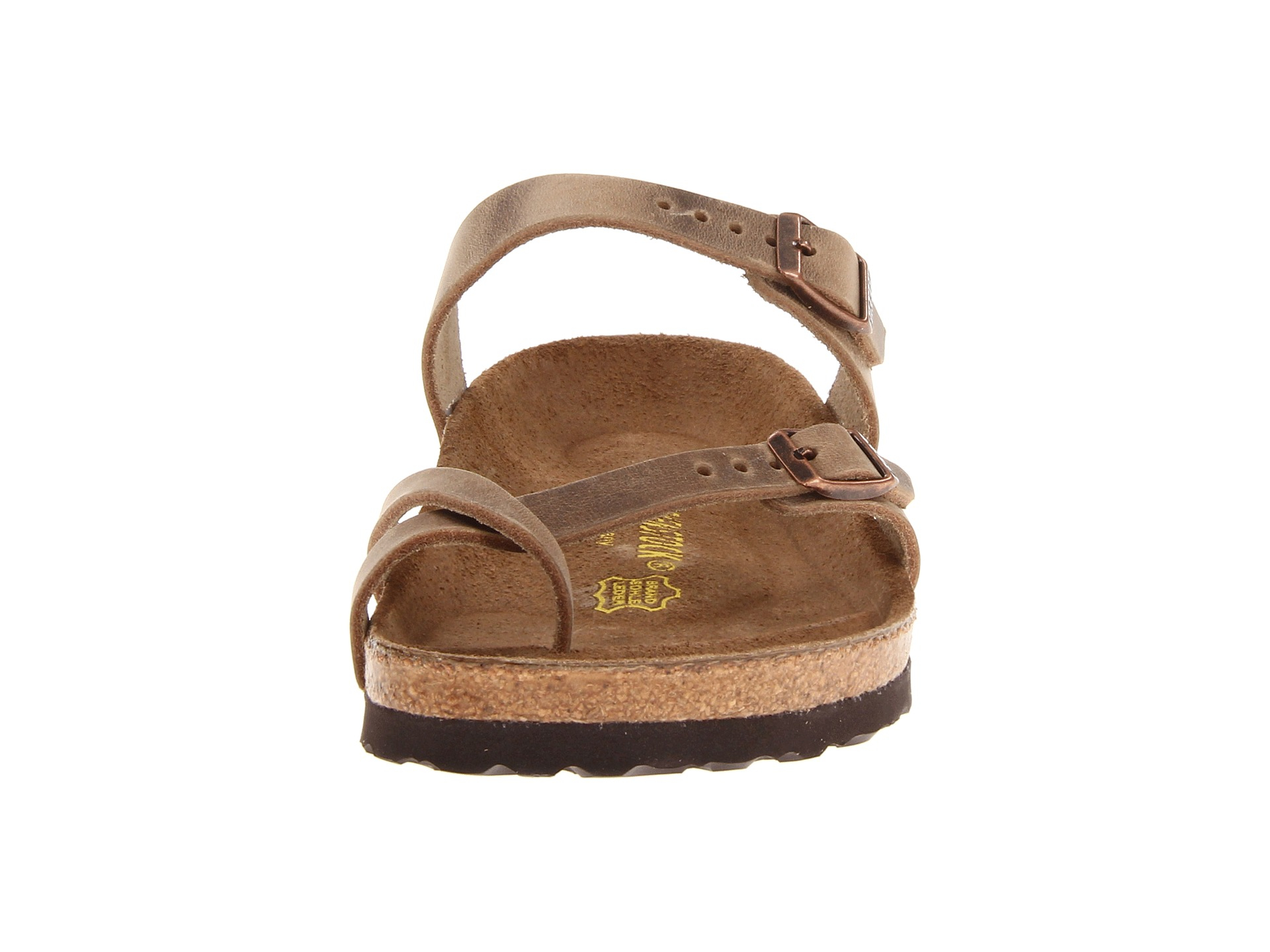 Mayari Birkenstock Sandals Oiled Tobacco Leather Sandals